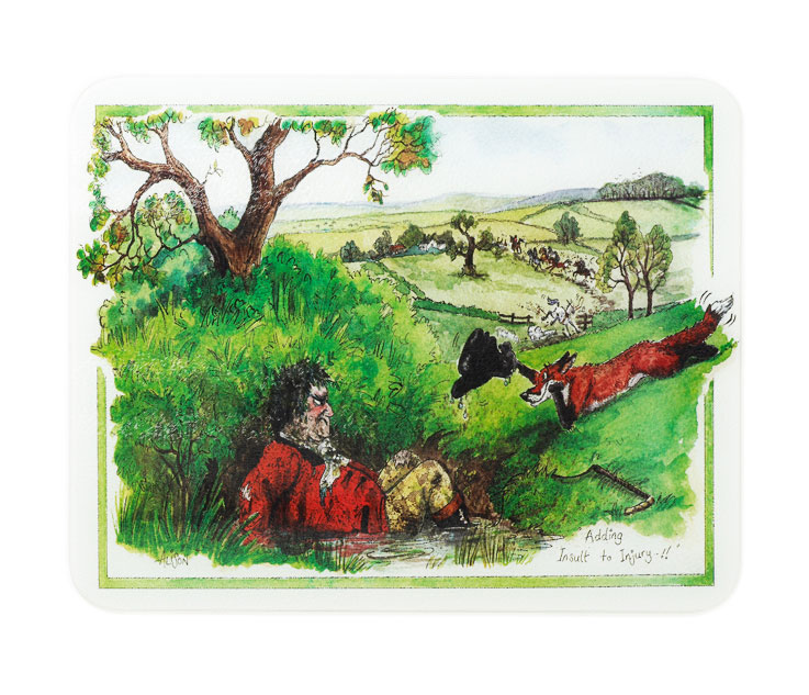 NEW Alisons Animals Kitchen Glass Chopping Board Worktop