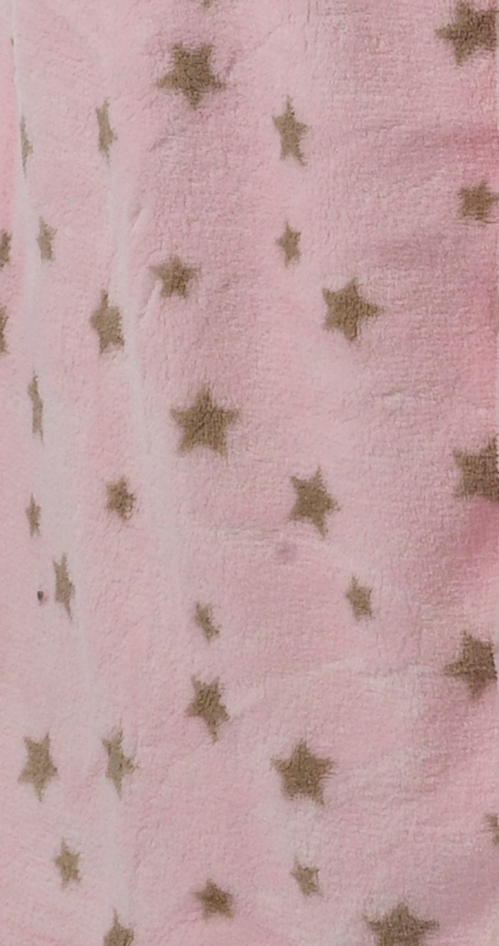 Womens Star Design Luxury Dressing Gown Ladies Soft Coral Fleece Cosy Bath  Robe c531088a2
