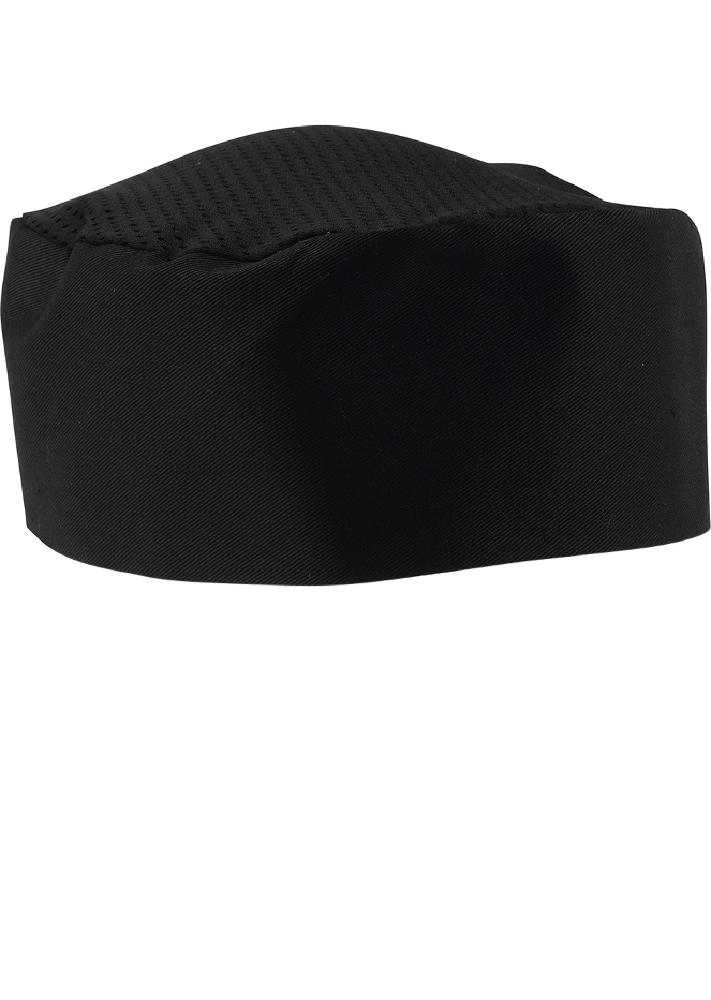04a167d9c12 Polycotton Chefs Skull Cap Mesh Top White Black Cool Cooking Catering  Restaurant