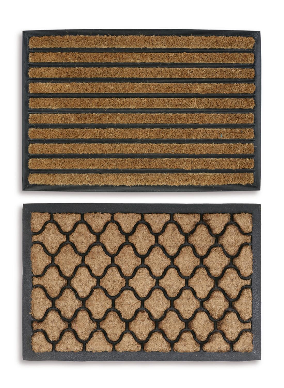 home more rubber pdx mat rugs door doormat gatsby