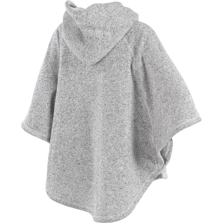 Slenderella Ladies Knitted Marl Hoody Sweatshirt Womens ...