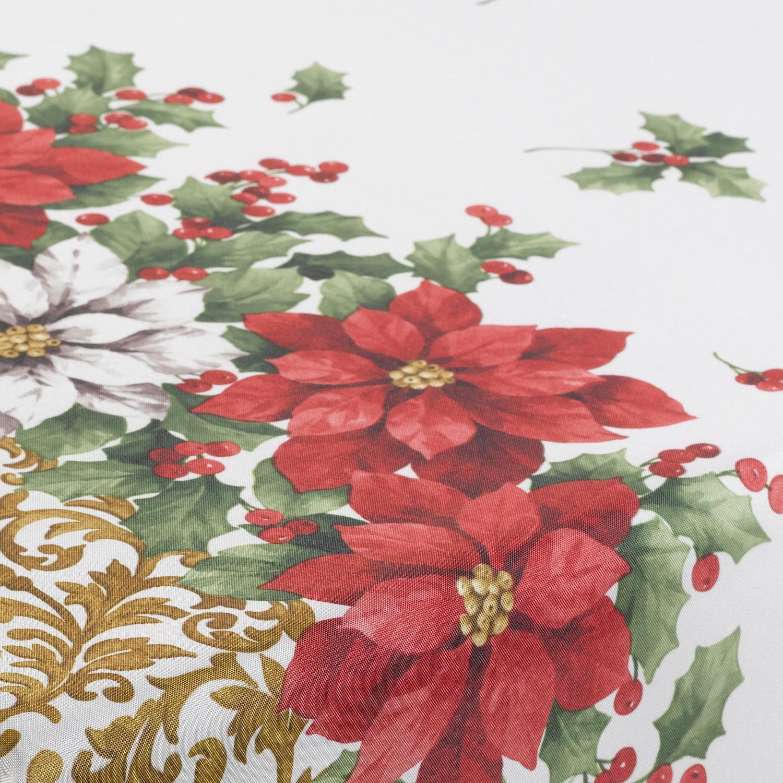 Christmas Green Tablecloth