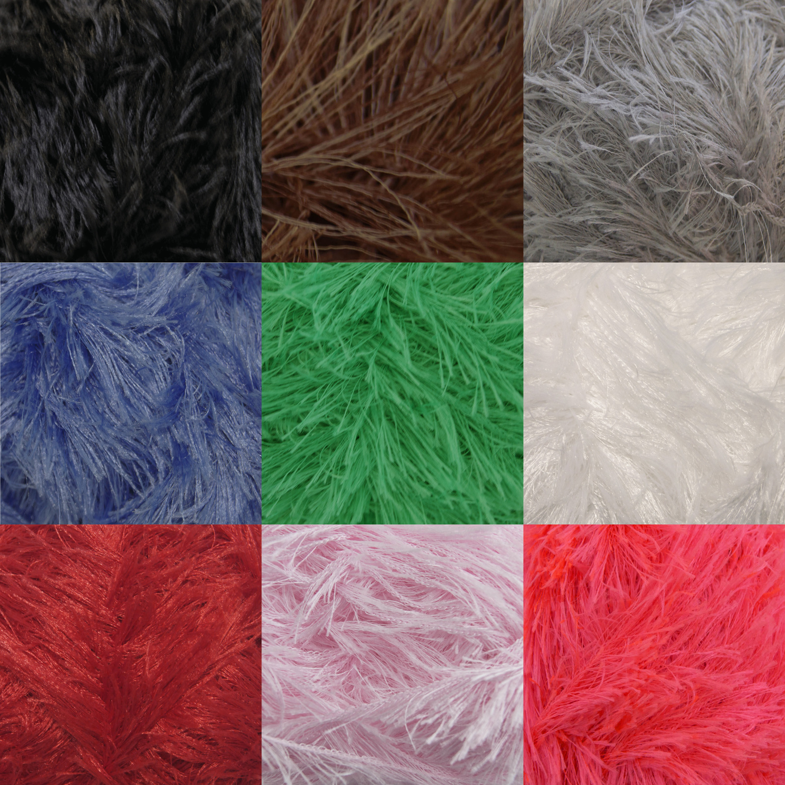 Moments Knitting Yarn King Cole 50g Ball Fluffy Eyelash Feather ...