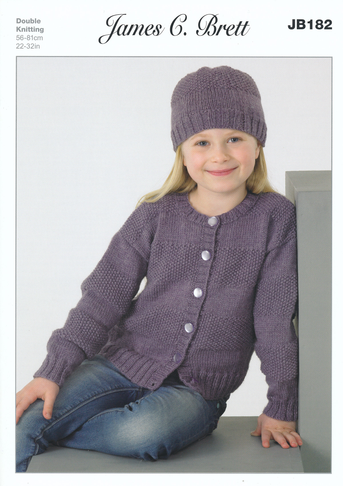 James brett double knitting dk pattern girls round v neck cardigan james brett double knitting dk pattern girls round v neck cardigan hat jb182 bankloansurffo Image collections