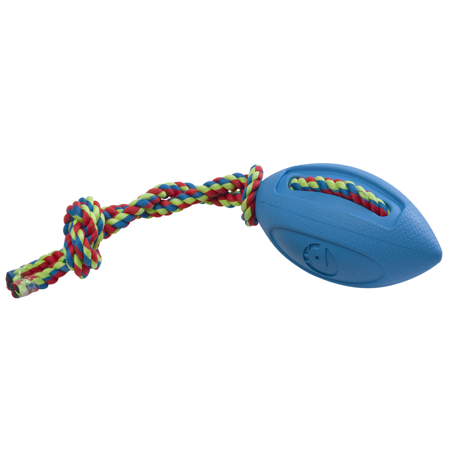 Petface Toyz Rugby Tugger Dog Puppy Tug & Chase Fun ...