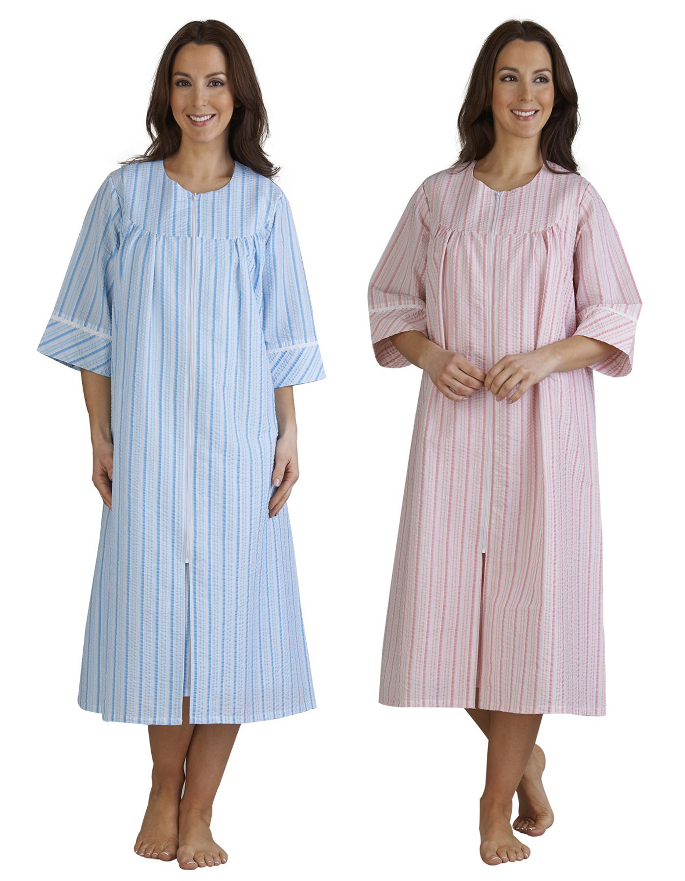 fdd568e995 ... Ladies Zip Front Dressing. Dressing Gowns With Zips - Best Seller Dress  and Gown Review