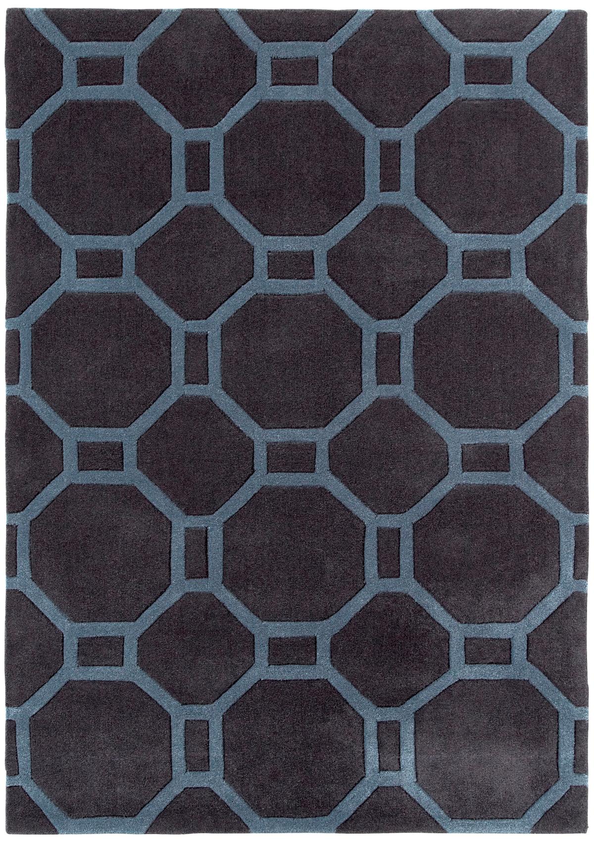 Modern Geometric Design Rug Octagon Amp Rectangle 100