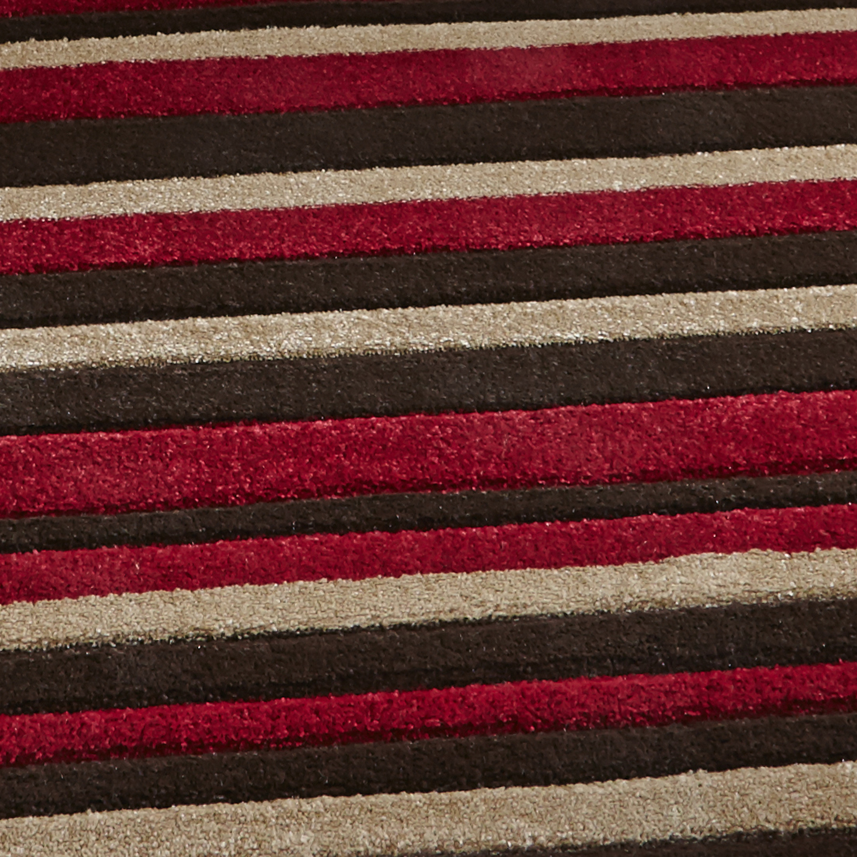 Red Striped Rug Uniquely Modern Rugs