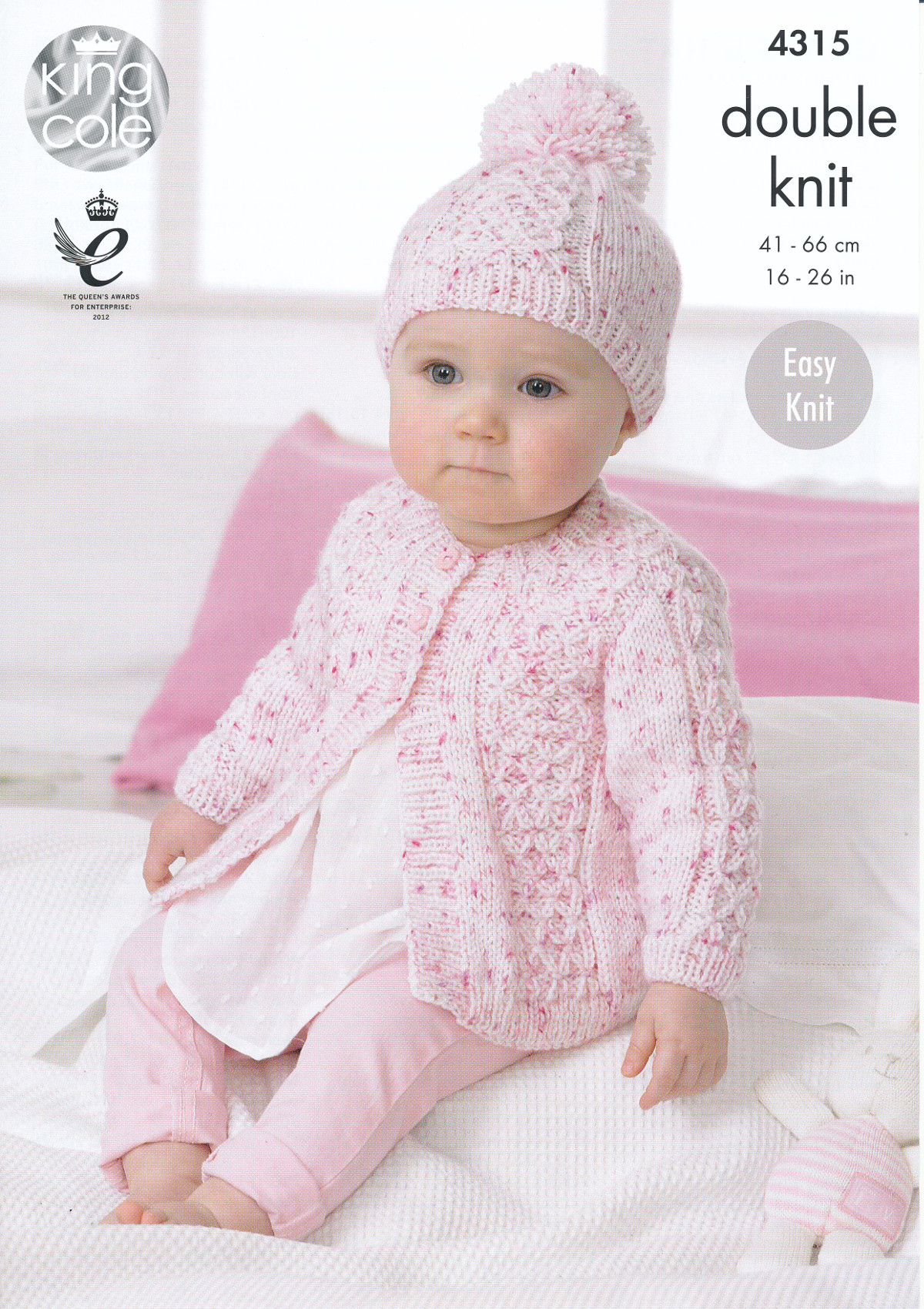 King Cole Double Knitting Pattern Baby Coat Collared ...