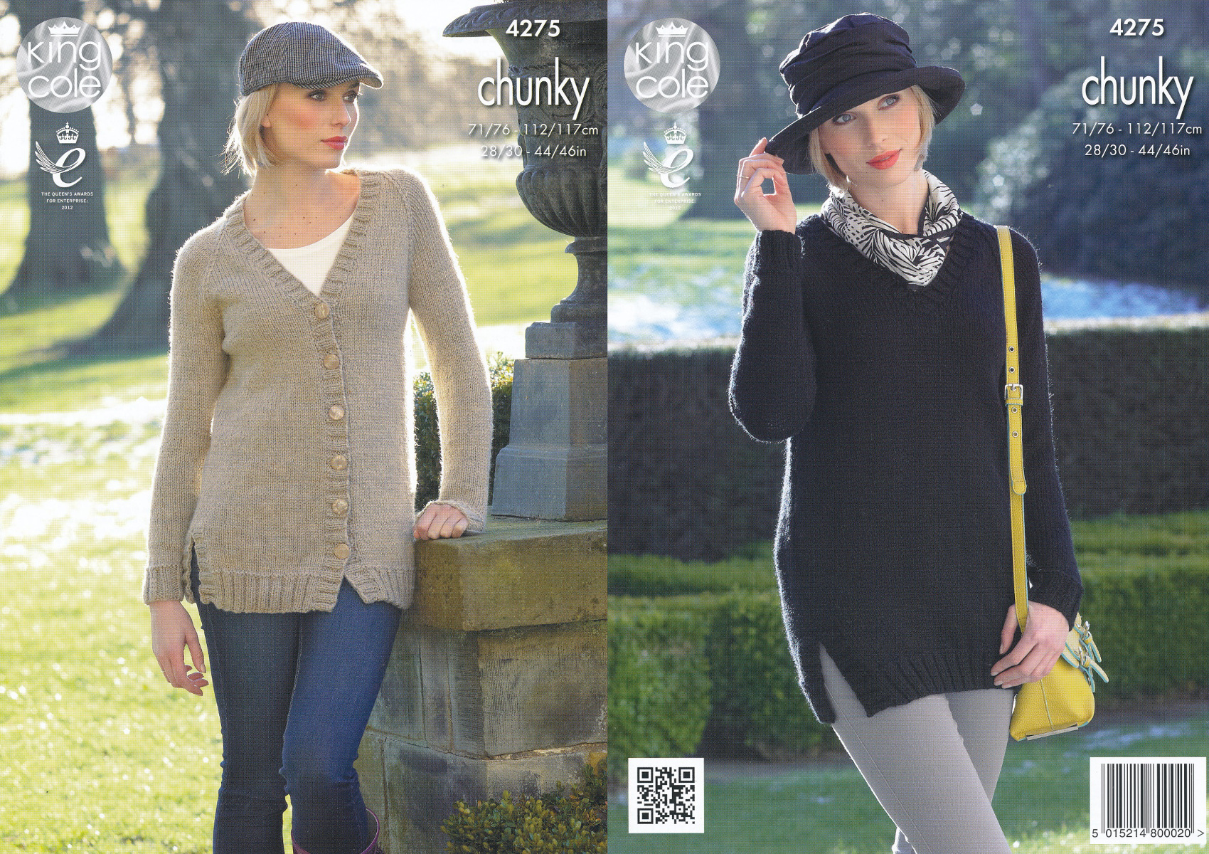 King cole ladies magnum chunky knitting pattern v neck cardigan king cole ladies magnum chunky knitting pattern v neck cardigan sweater 4275 bankloansurffo Gallery