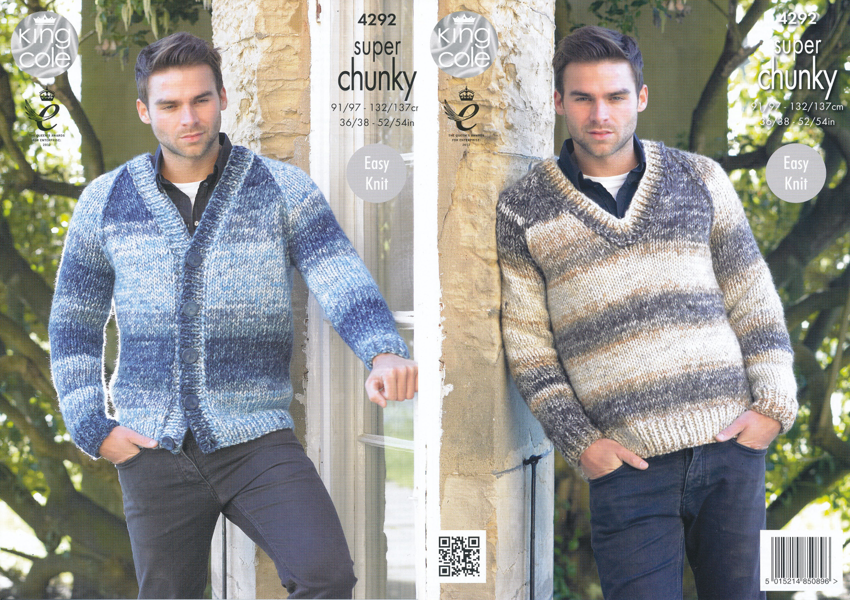a4f6763ea99 Item Description. This easy knit King Cole super chunky knitting pattern ...