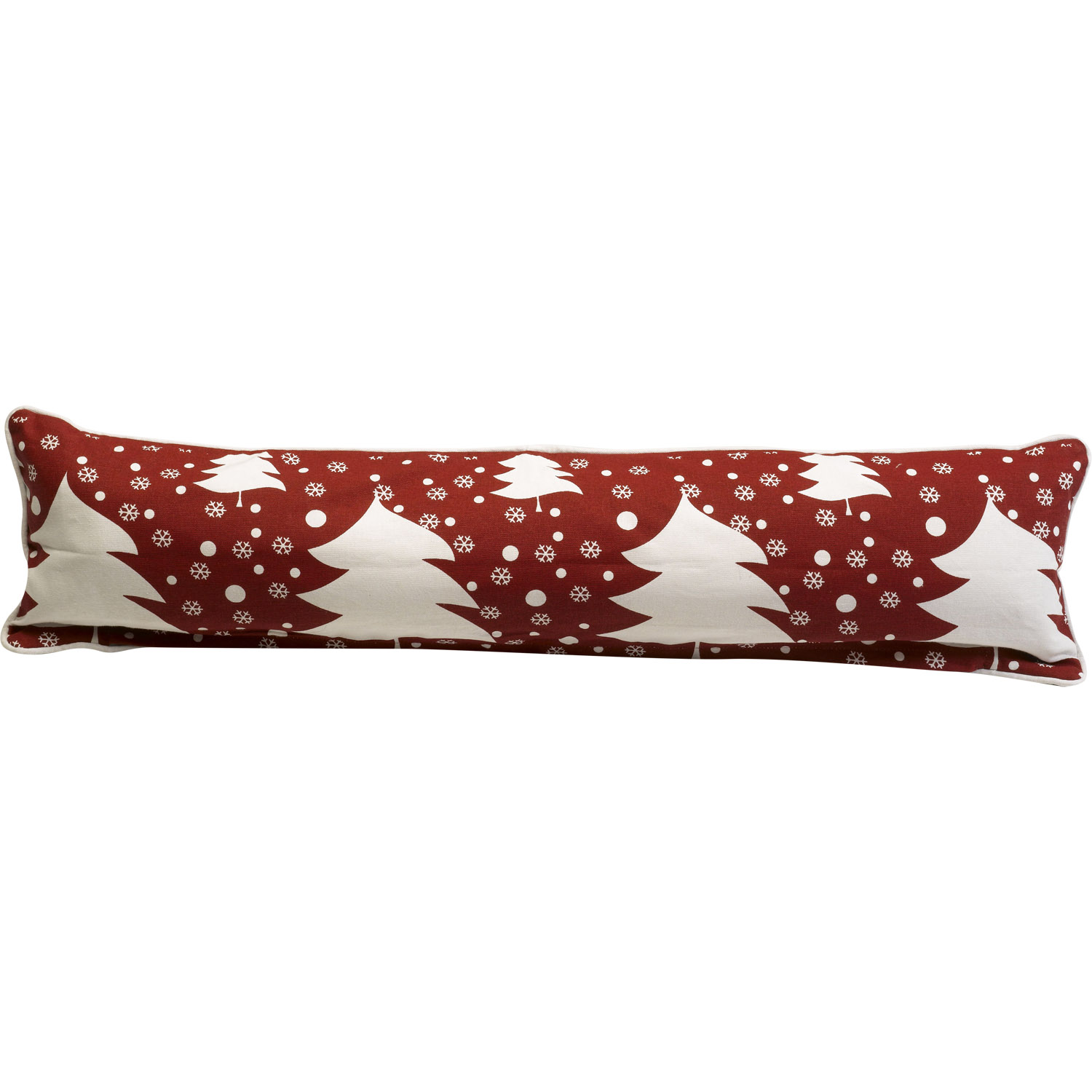 Festive Xmas Draught Excluder Cushion Window Or Door Guard Christmas