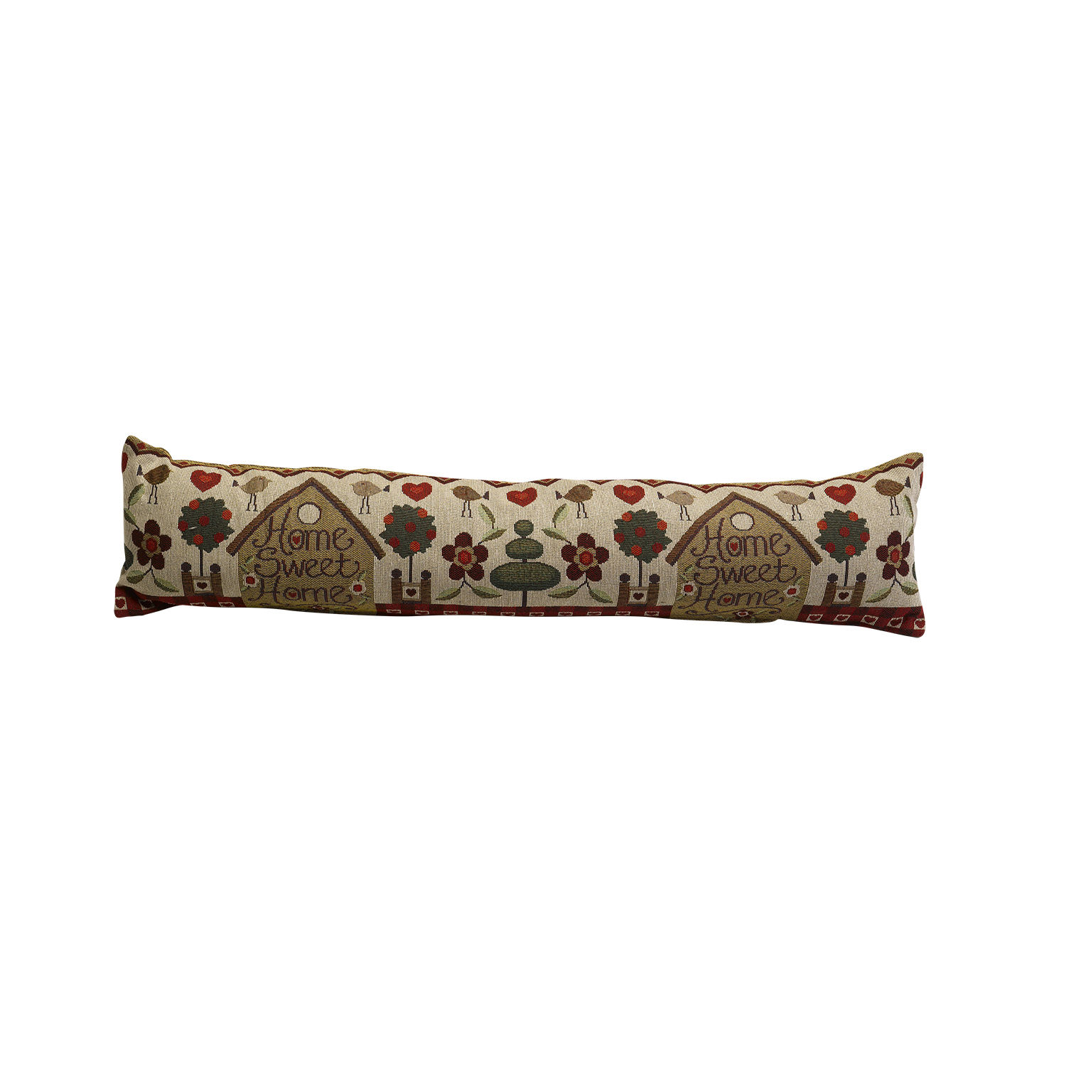 Tapestry style home draught excluder fabric door or window for Door excluder
