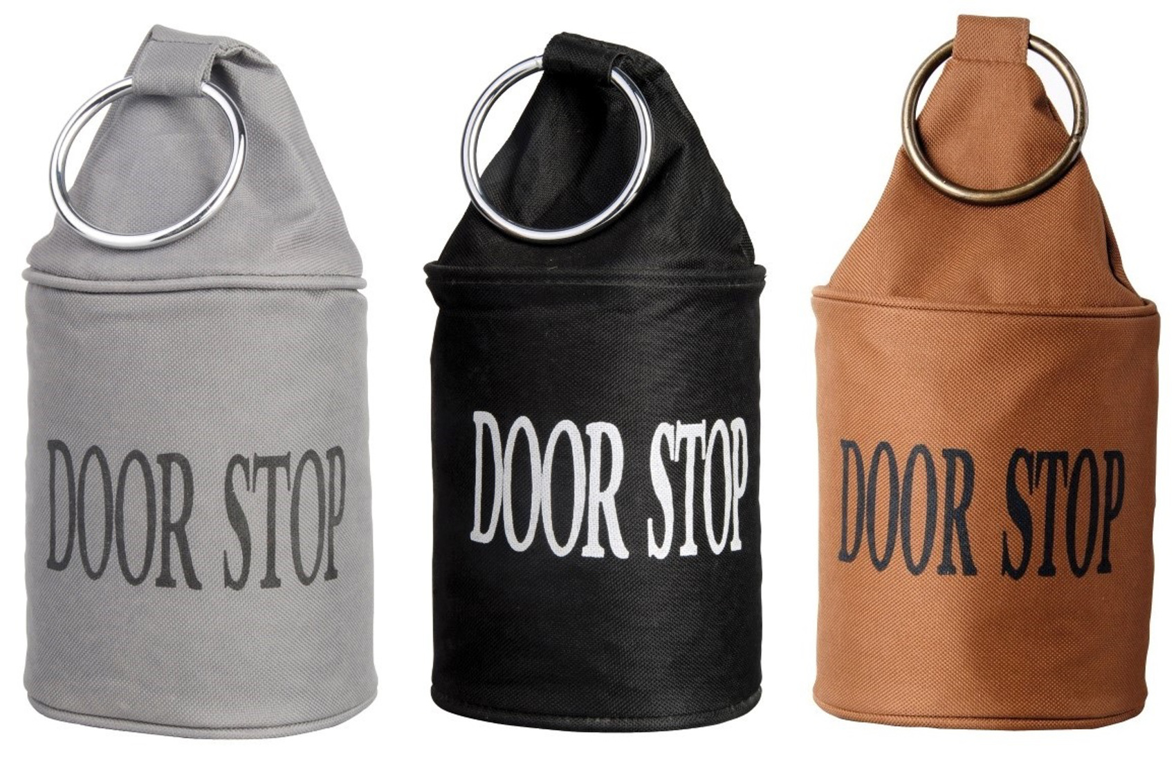 These Heavy Duty Door Stops Have U0027DOOR STOPu0027 Printed On Them And Have A  Metal Ring At The Top. They Are Perfect For Stopping The Door From Swinging  Shut Or ...