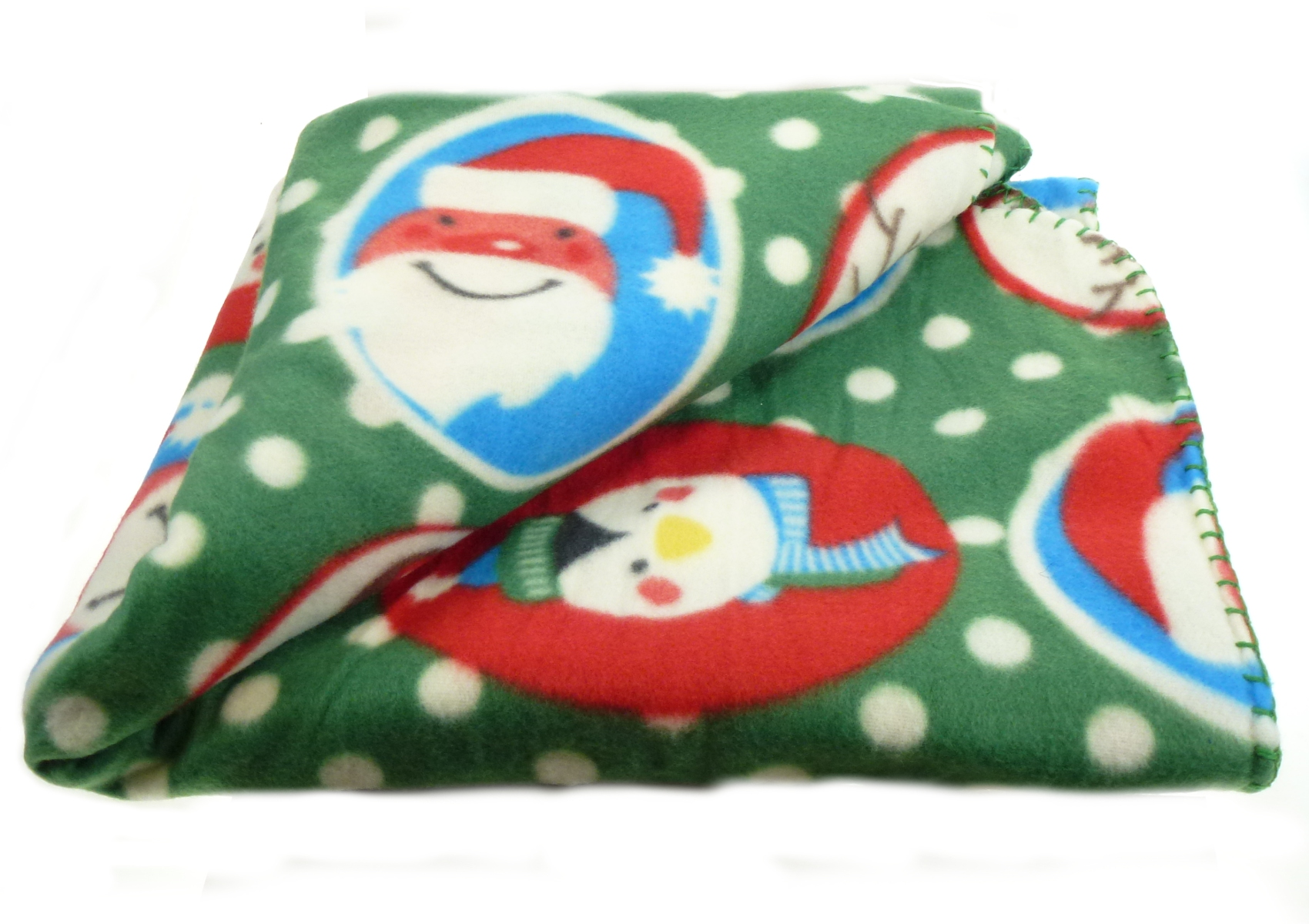 Christmas Soft Fleecy Throw Over Festive Xmas Polar Fleece Bed