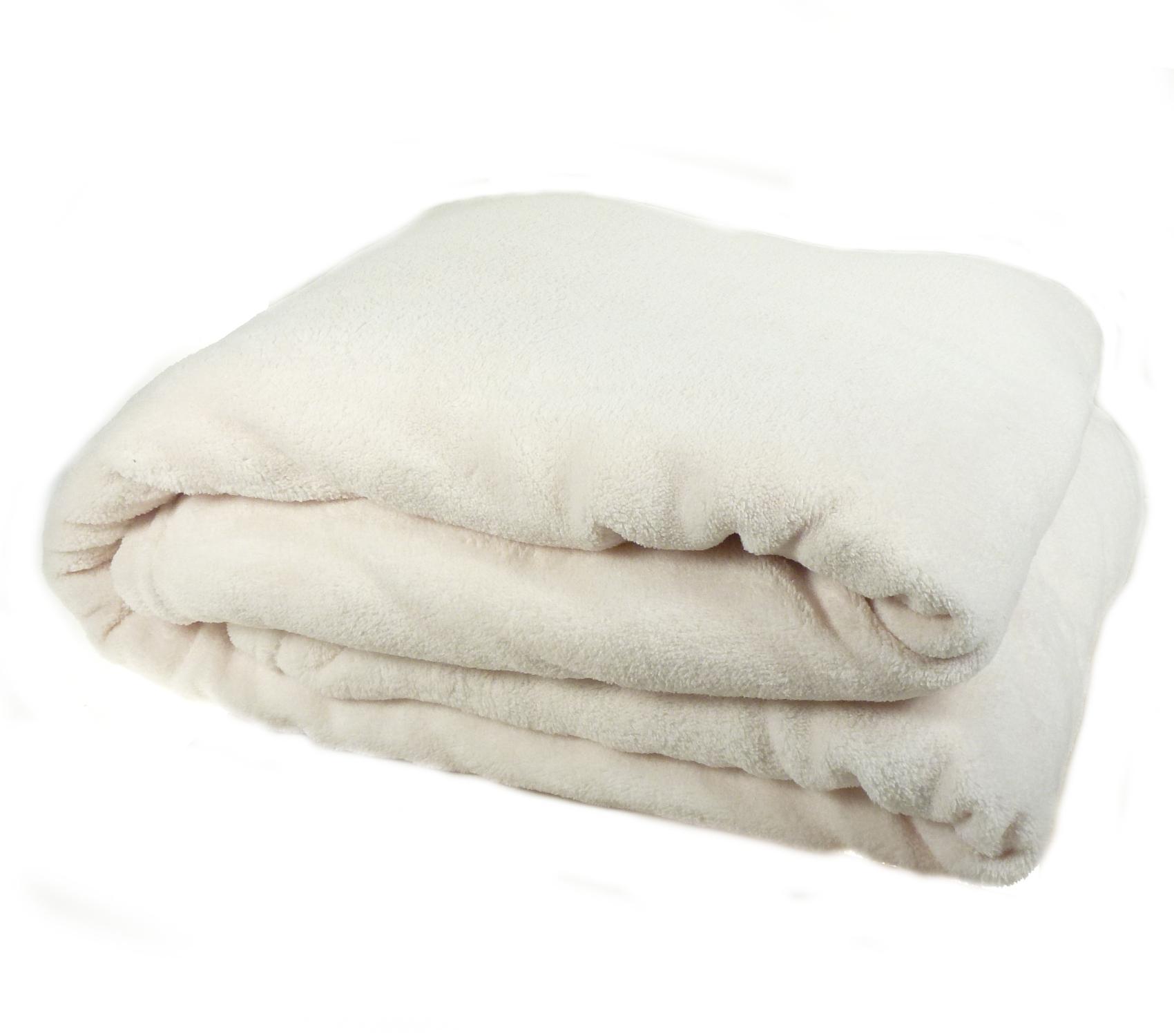 Luxury Soft Cosy Coral Fleece Throw Over Bed Sofa Home Fleecy