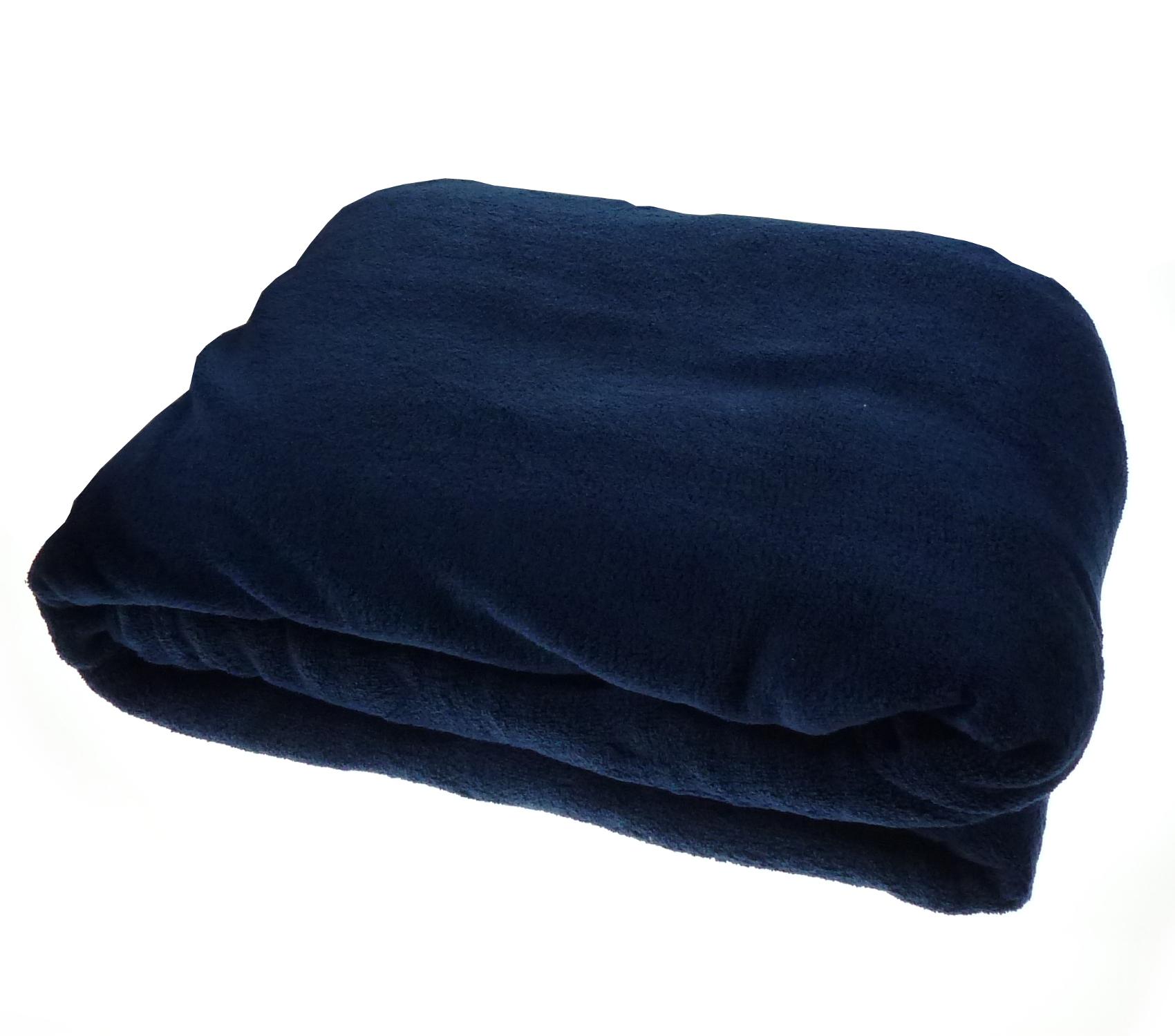 Soft Coral Fleece Blanket Cosy Warm Bed Sofa Luxury Fleecy