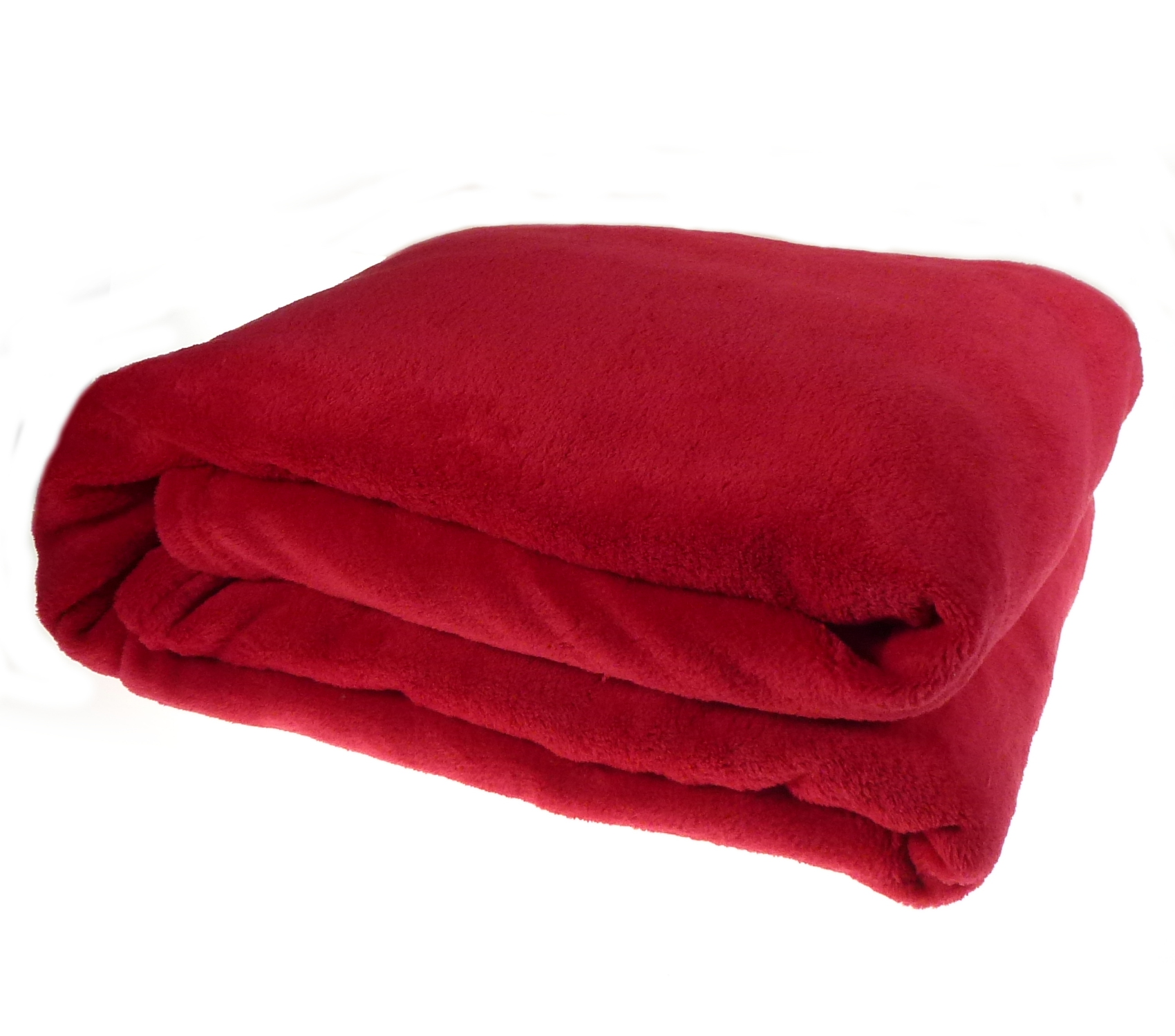 Luxury Soft Cosy Coral Fleece Throw Over Bed Sofa Home