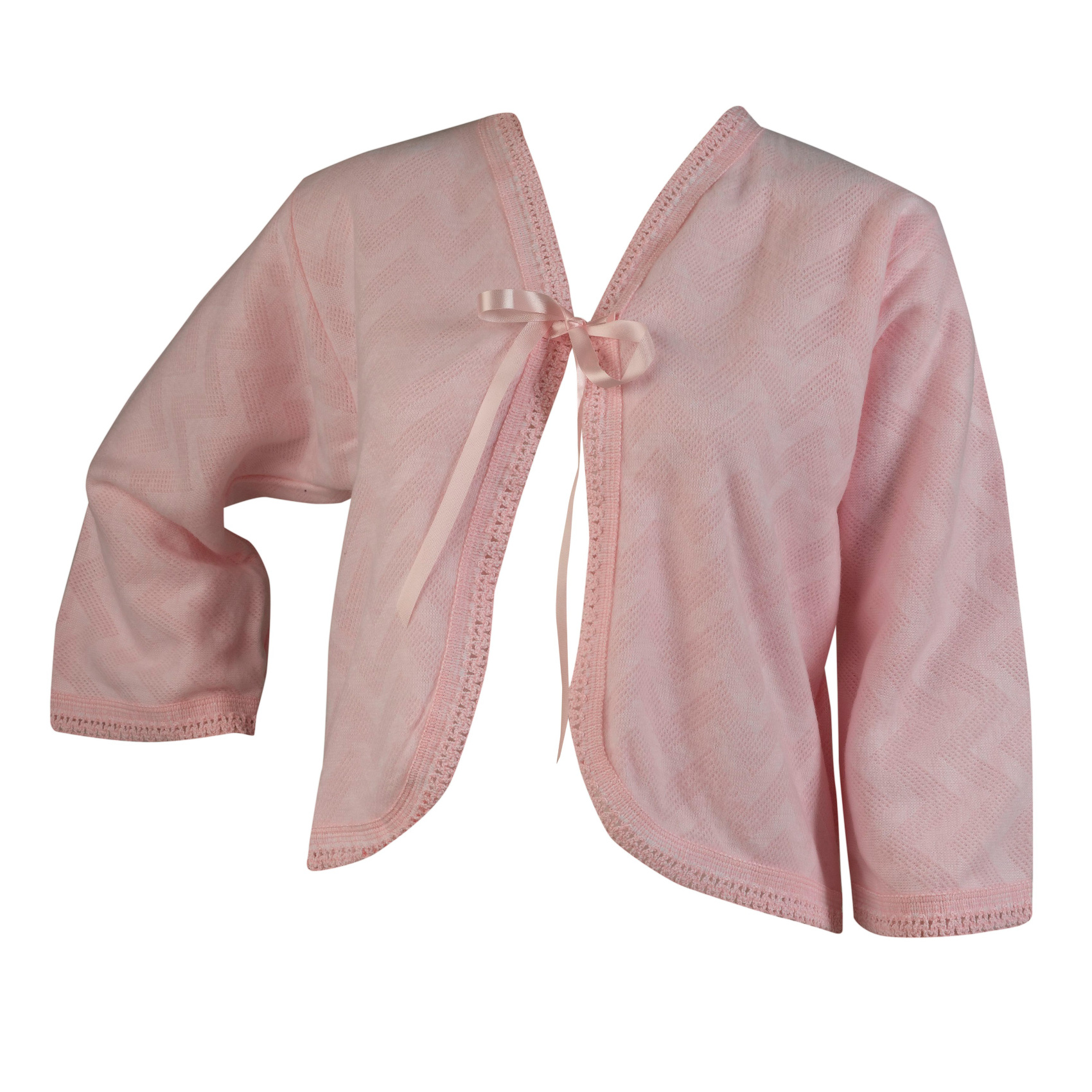 The Pink Satin Lady Jacket features a screen print back. This satin jacket is pink with black trim around the hem, cuffs, zipper front, and collar. The back is screen printed with the words Pink Satin Lady in 5/5(2).