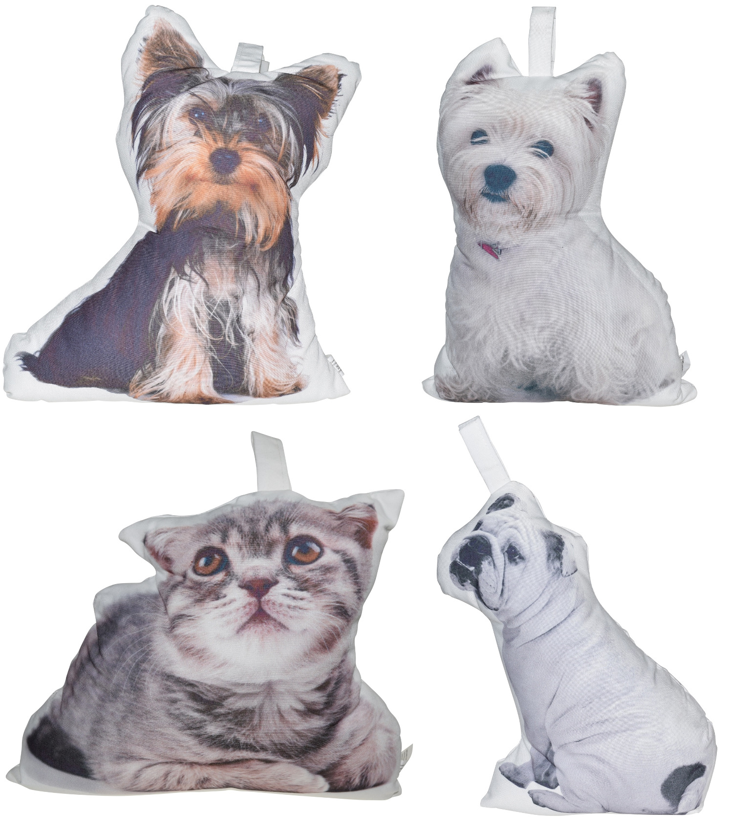 fabric dog or cat t rstopper wei er griff 1 kg gewichtet t rpuffer wohndeko ebay. Black Bedroom Furniture Sets. Home Design Ideas
