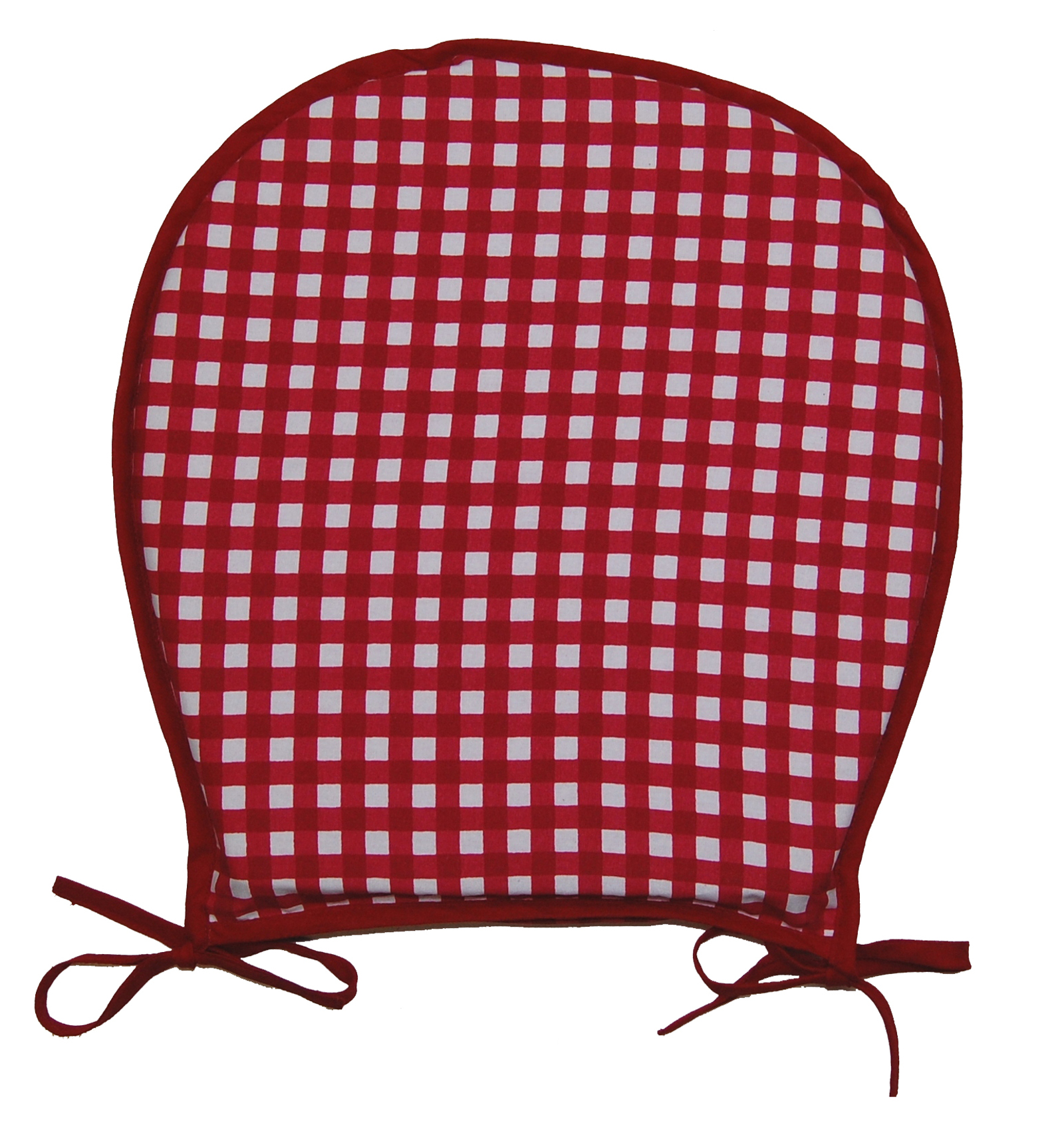 Red Gingham Chair Cushions Droughtrelief Org