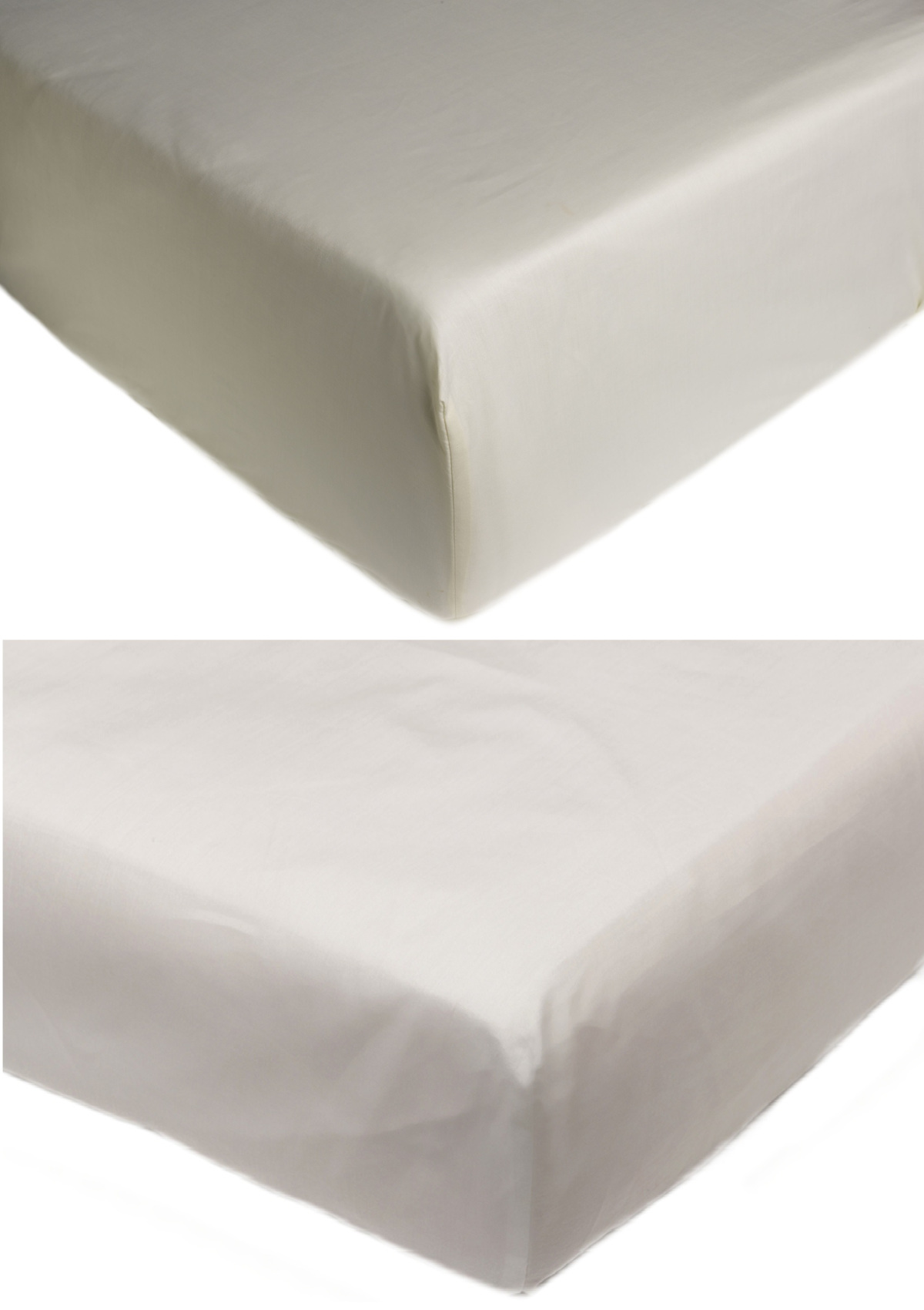 Extra Deep Fitted Sheet Easy Iron Combed Cotton U0026 Polyester Bedding Bed  Linen