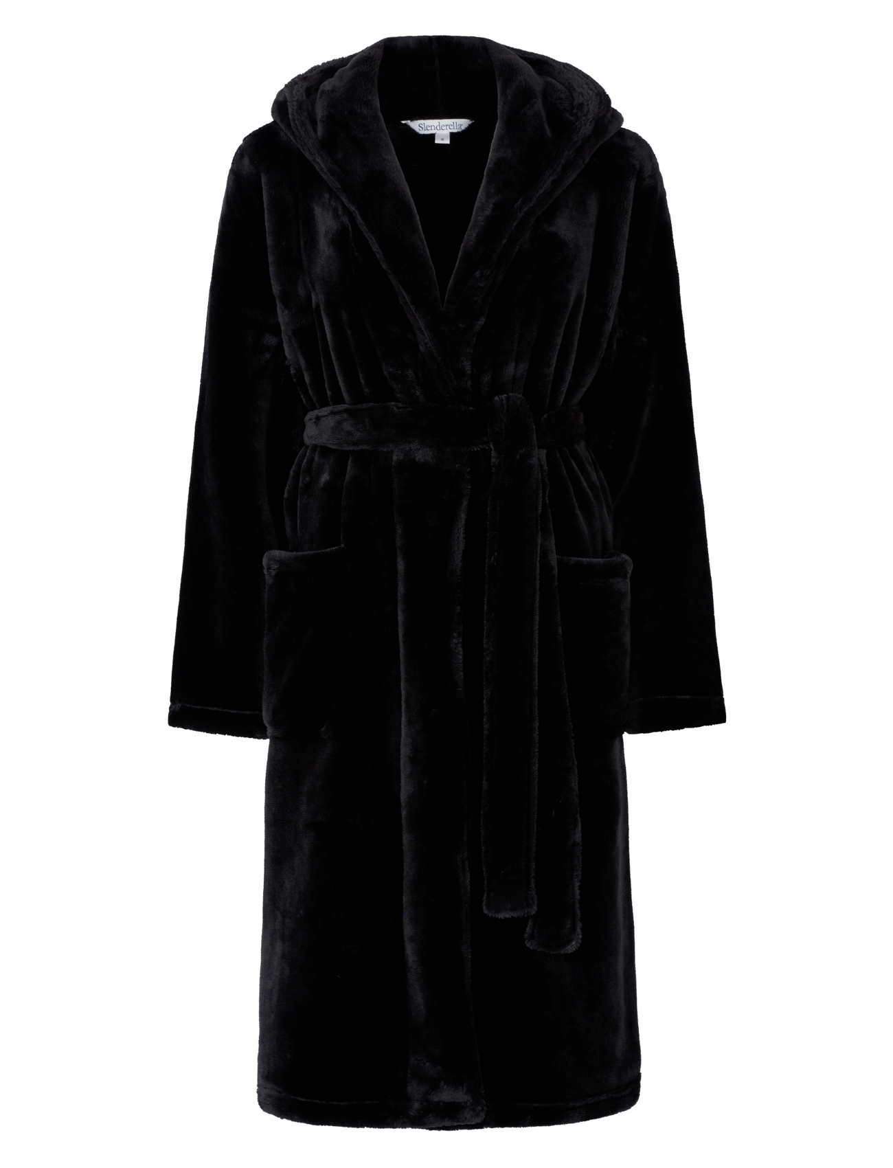 dressing gown luxury super soft thick fleece ladies hooded. Black Bedroom Furniture Sets. Home Design Ideas