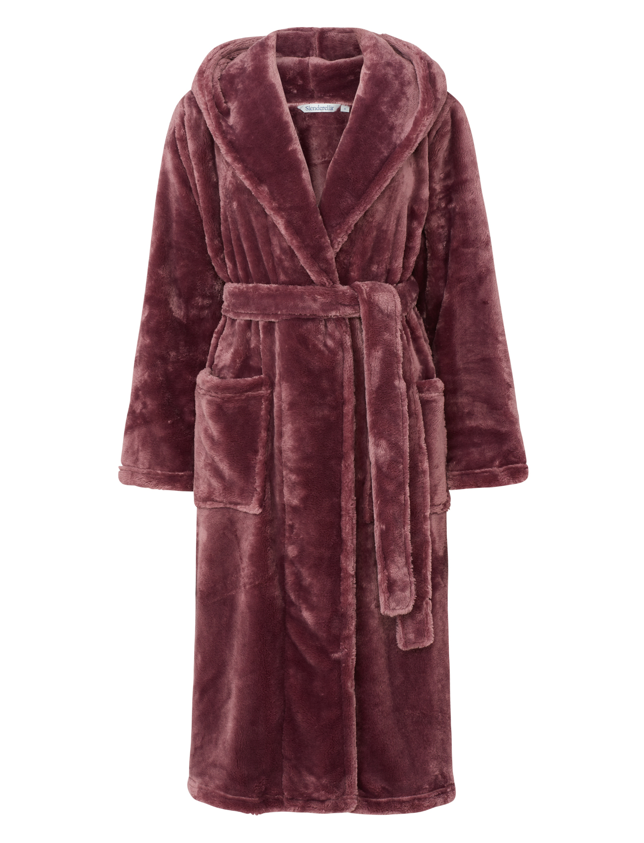 Dressing Gown Luxury Super Soft Thick Fleece Ladies Hooded