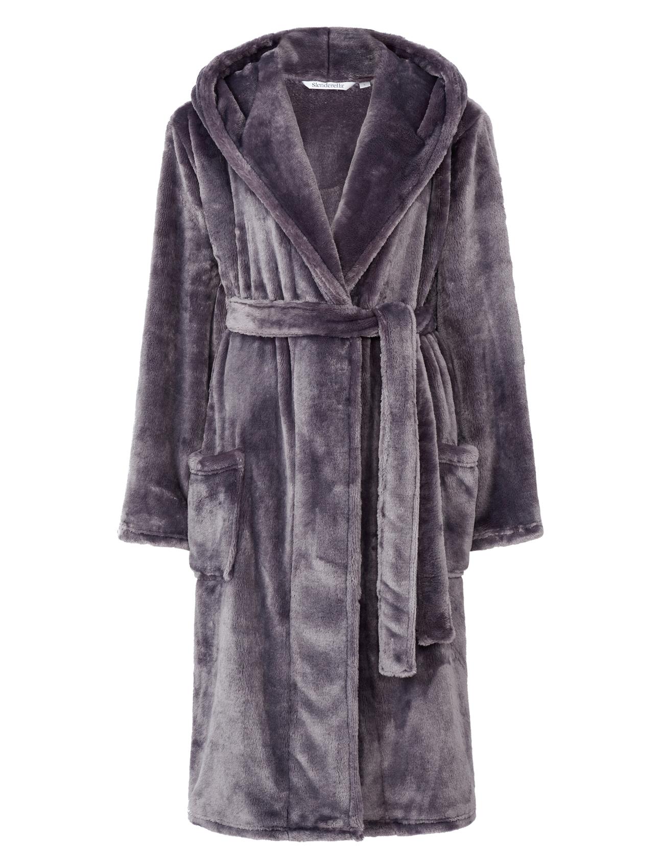 8803e613ec Slenderella Ladies Super Soft Thick Fleece Dressing Gown Luxury ...