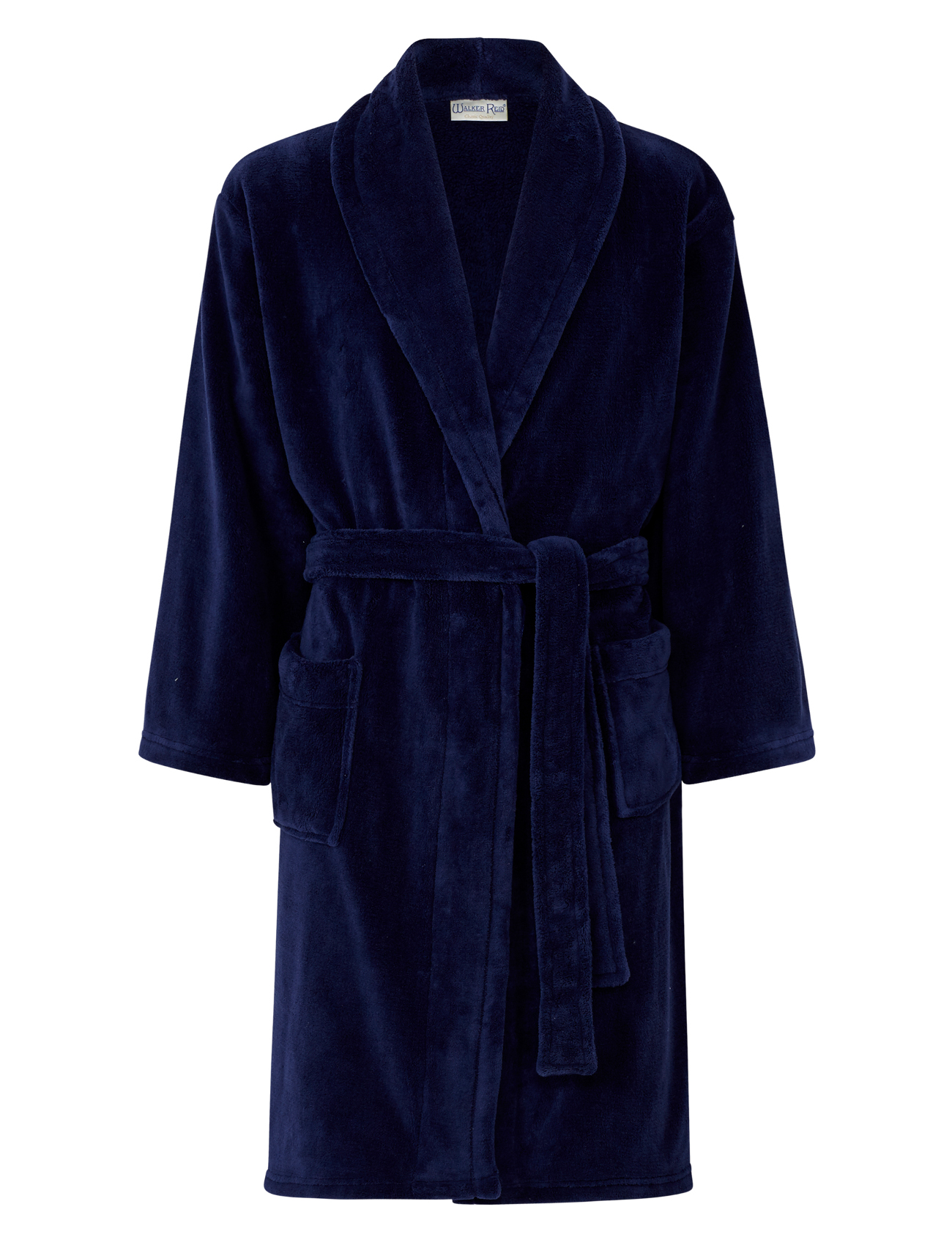 discount for sale shop for newest top-rated newest Details about Dressing Gown Mens Soft Fleecy Plain Bathrobe Luxury Walker  Reid Nightwear Robe
