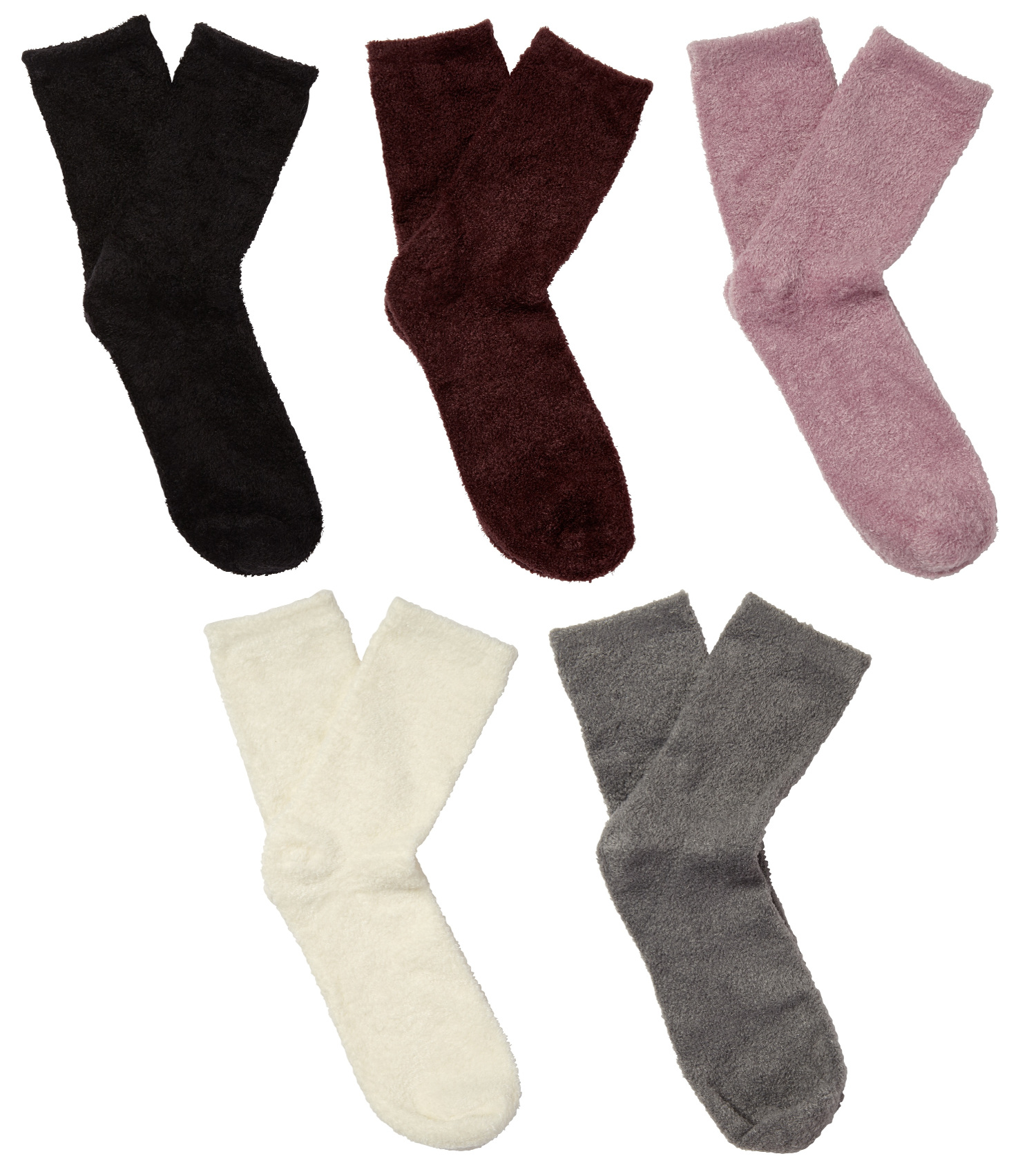 0a62981732e31 Details about Slenderella Ladies Soft Fleece Bedsocks Cosy Nylon Bed Socks  One Size UK 4-7