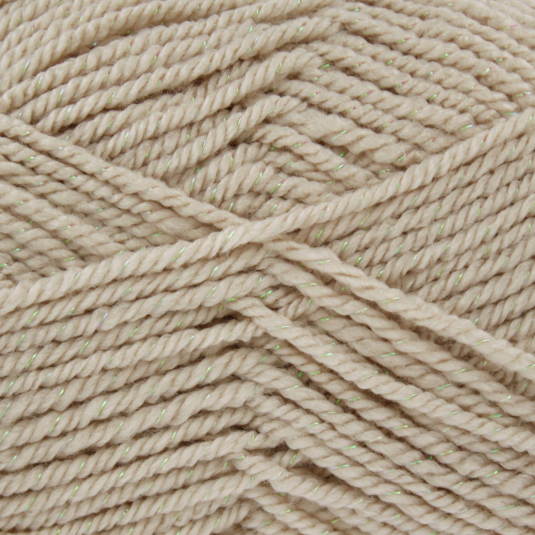 100g King Cole Glitz Chunky Free Knitting Pattern Acrylic Sparkly ...
