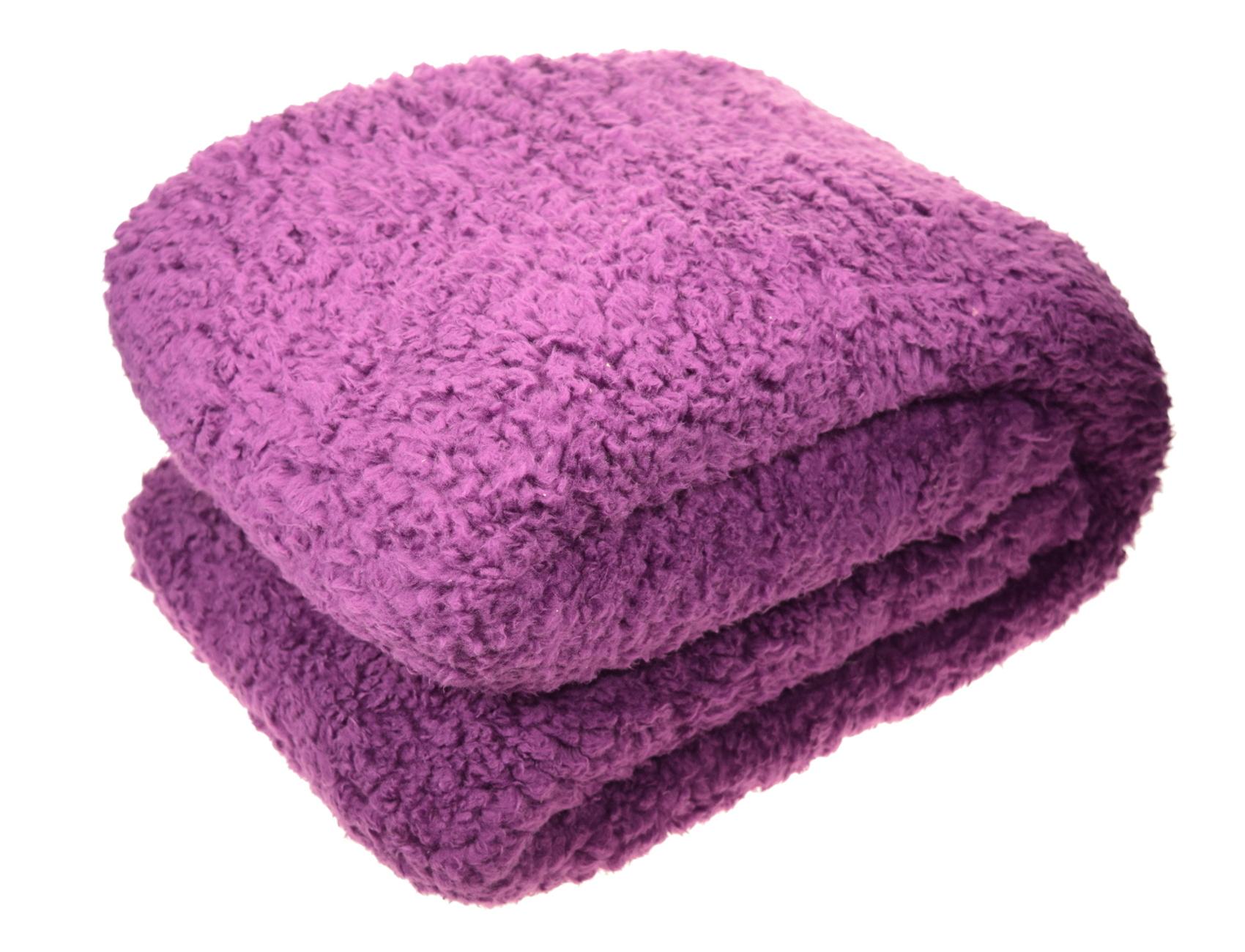 Teddy Fleece Blanket Super Soft Bed Sofa Home Thick Fleecy Throw