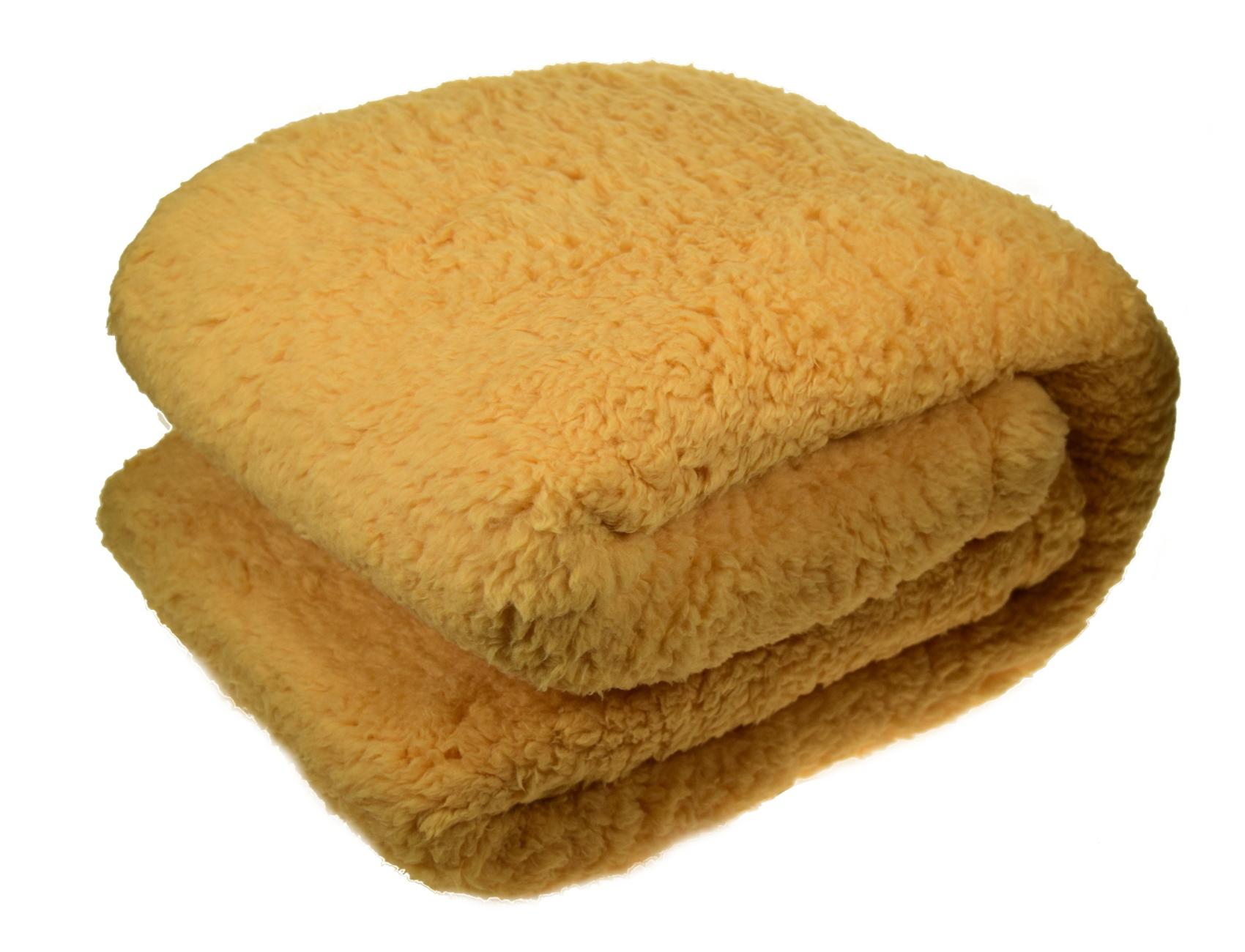 yellow thick fleecy throwover cosy warm luxury teddy fleece blanket
