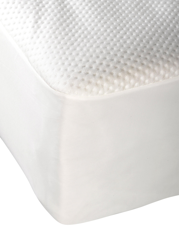 Nouveau Imperméable Matelassé Housse Protecteur Drap Housse Coussin Protecteur Toutes Tailles