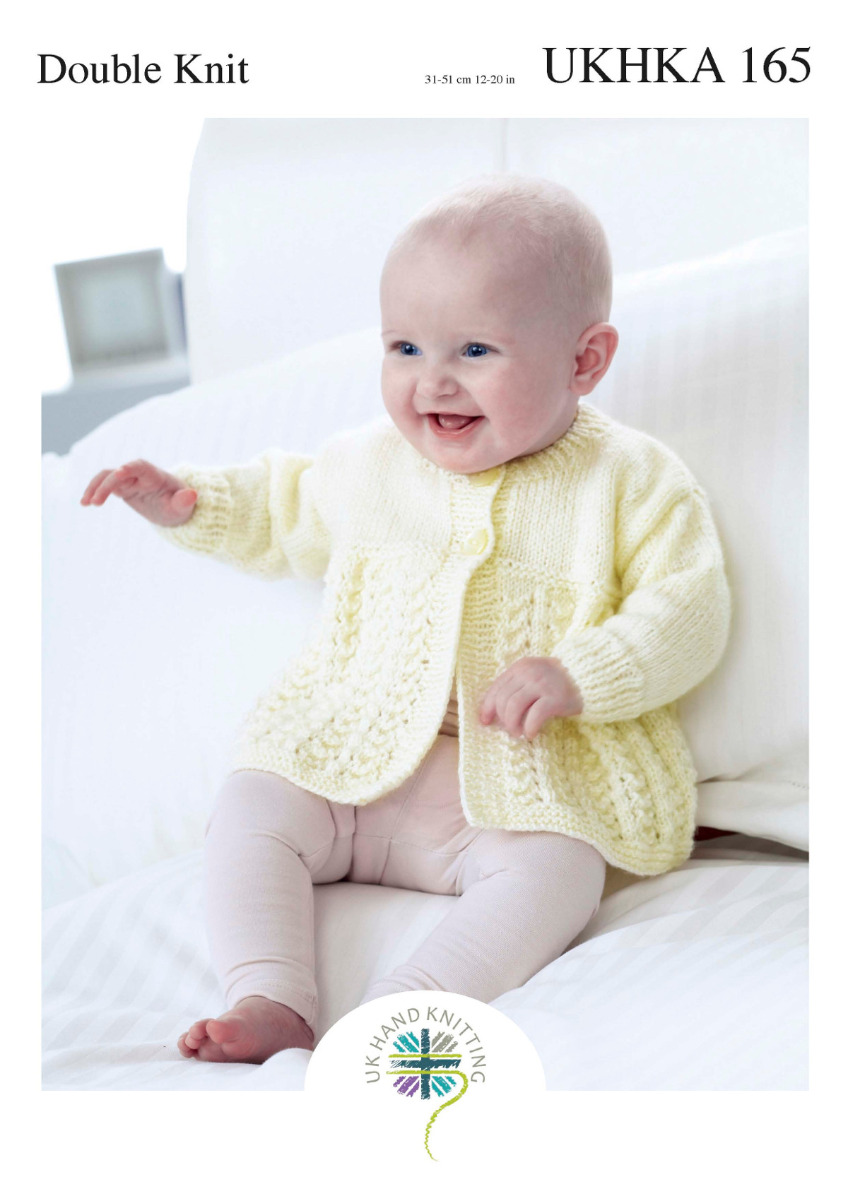 Ukhka 165 baby double knitting pattern lacy round v neck cardigans please look at images below for the chart showing measurements yarn and materials requirement to make this garment this is a ukhka baby knitting pattern bankloansurffo Choice Image