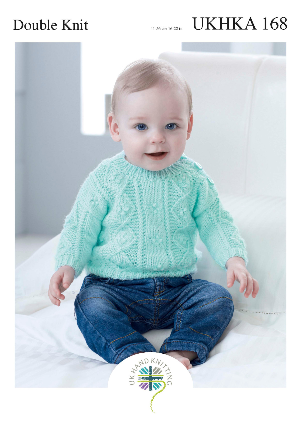 Ukhka 168 baby double knitting pattern cable knit sweater jumper please look at images below for the chart showing measurements yarn and materials requirement to make this garment this is a ukhka baby knitting pattern bankloansurffo Choice Image