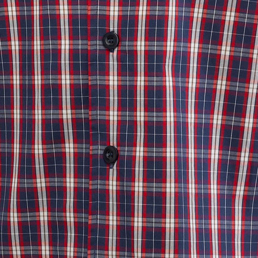 369663d48d These traditional nightshirts from Walker Reid have a checked pattern  throughout