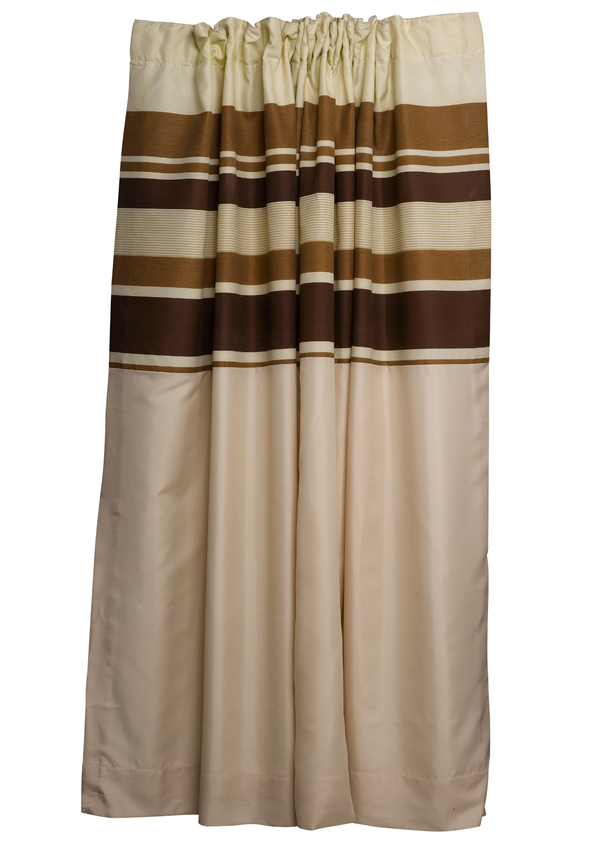 brown striped fully lined pair of curtains ready made. Black Bedroom Furniture Sets. Home Design Ideas