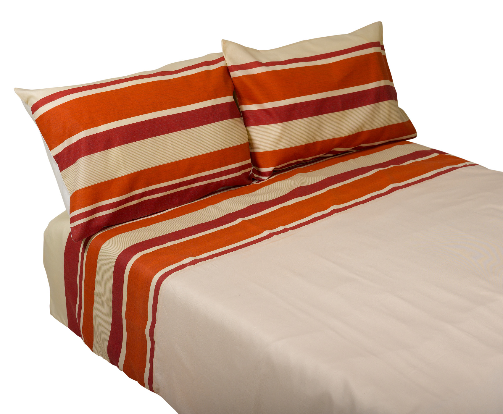 Tango Striped Duvet Cover Two Pillowcases Set Cotton Mix Bedroom Bed Linen Ebay