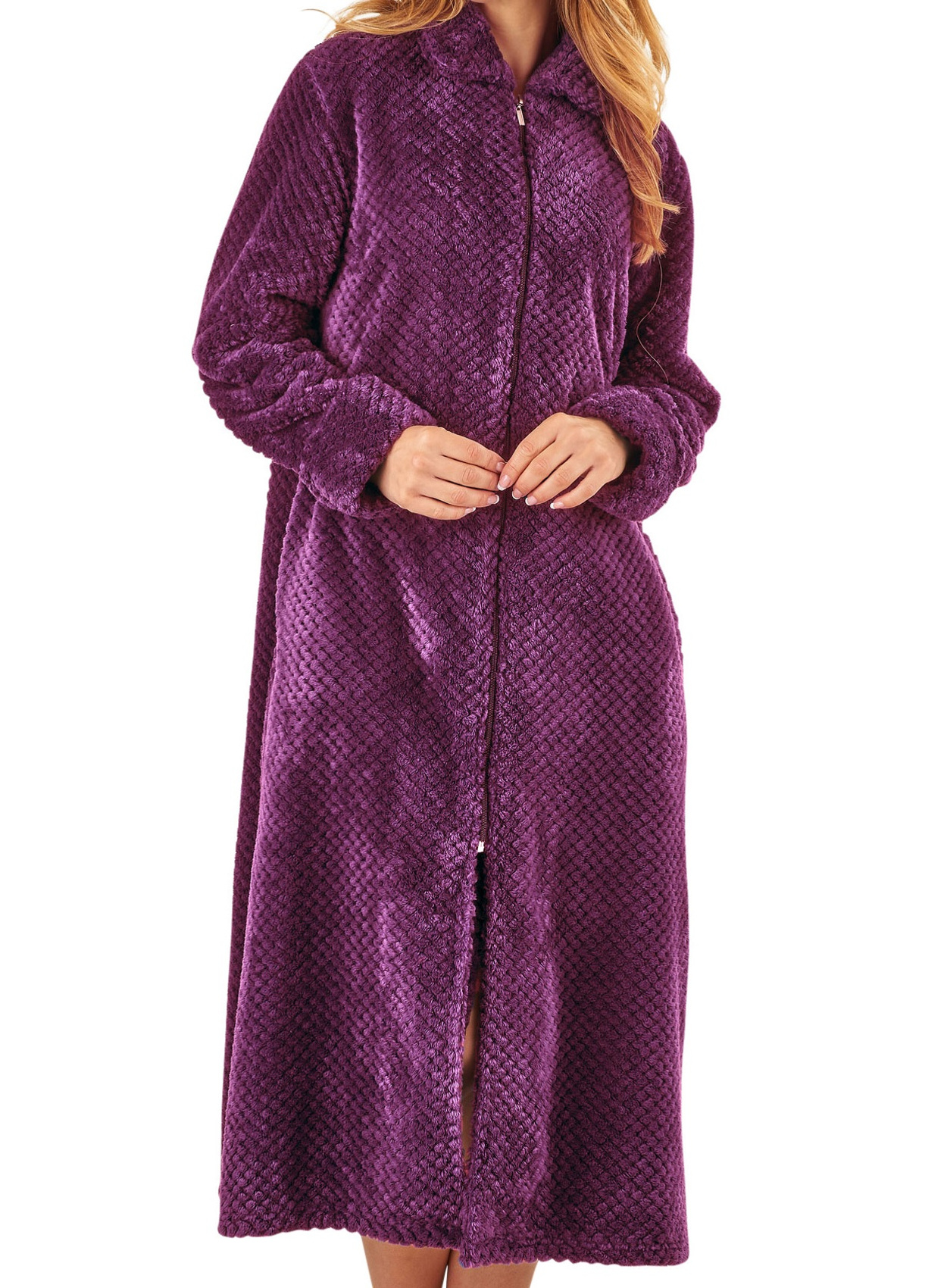 bc10753148 Beautiful Ladies Purple Dressing Gown Model - Top Wedding Gowns ...