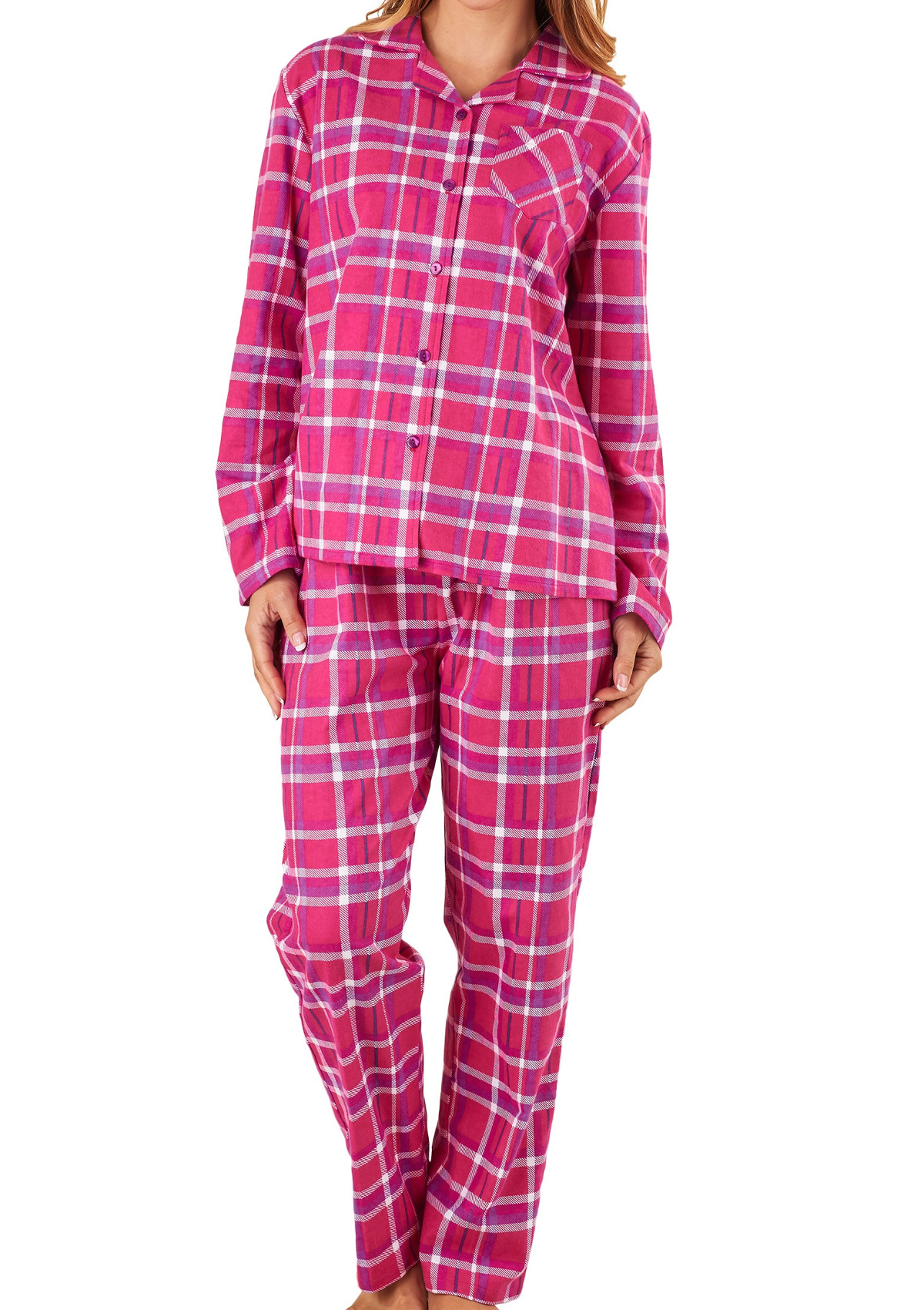 From the softest dressing gowns to silk and satin pyjama tops and shorts, our collection of women's nightwear will help you relax in luxury. Choose from jersey pyjama jumpsuits and onesies to fluffy slipper sets, for sleepwear that's both cosy and chic.