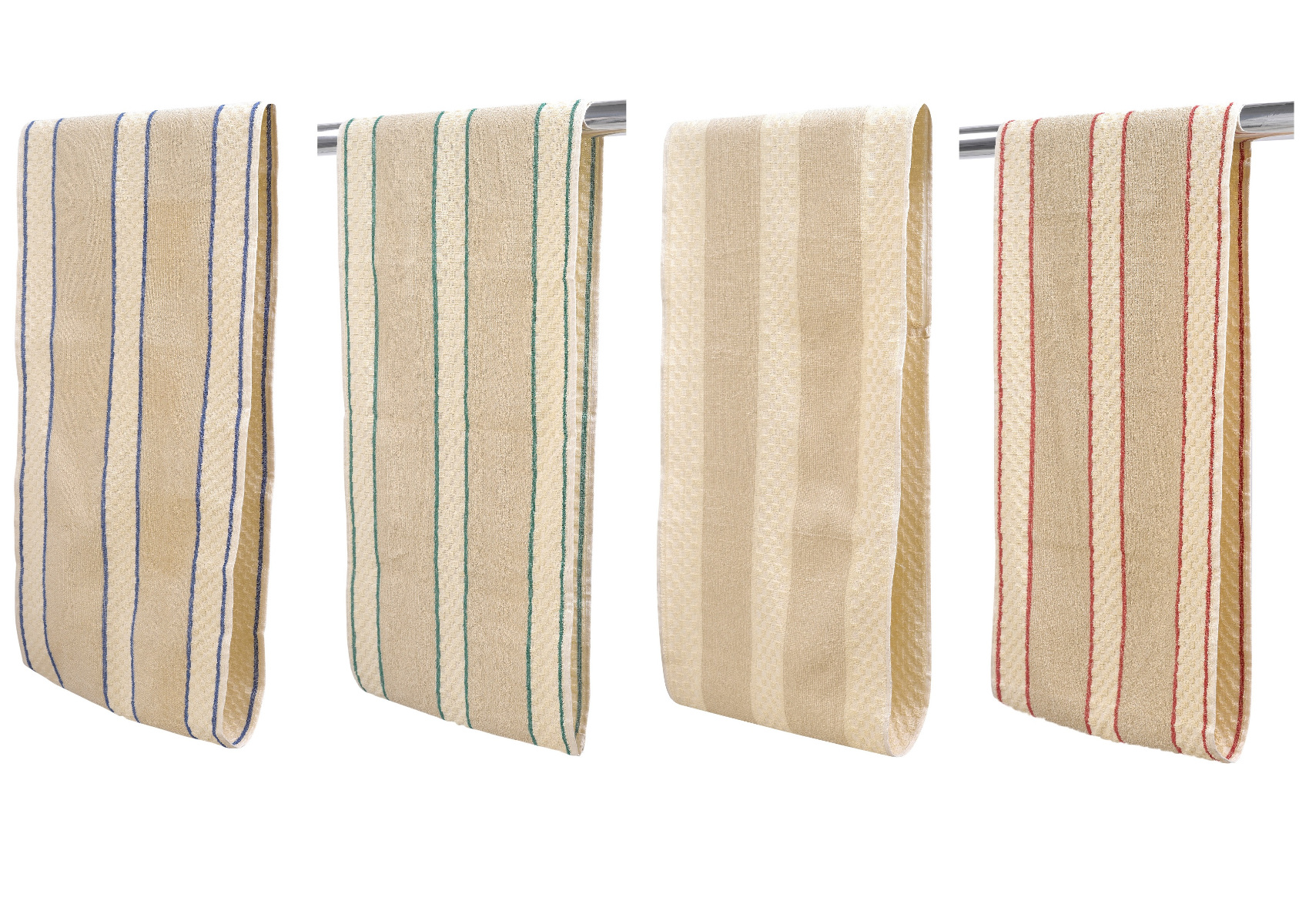 Roller Hand Towel 100% Cotton Striped Traditional Kitchen Bathroom ...