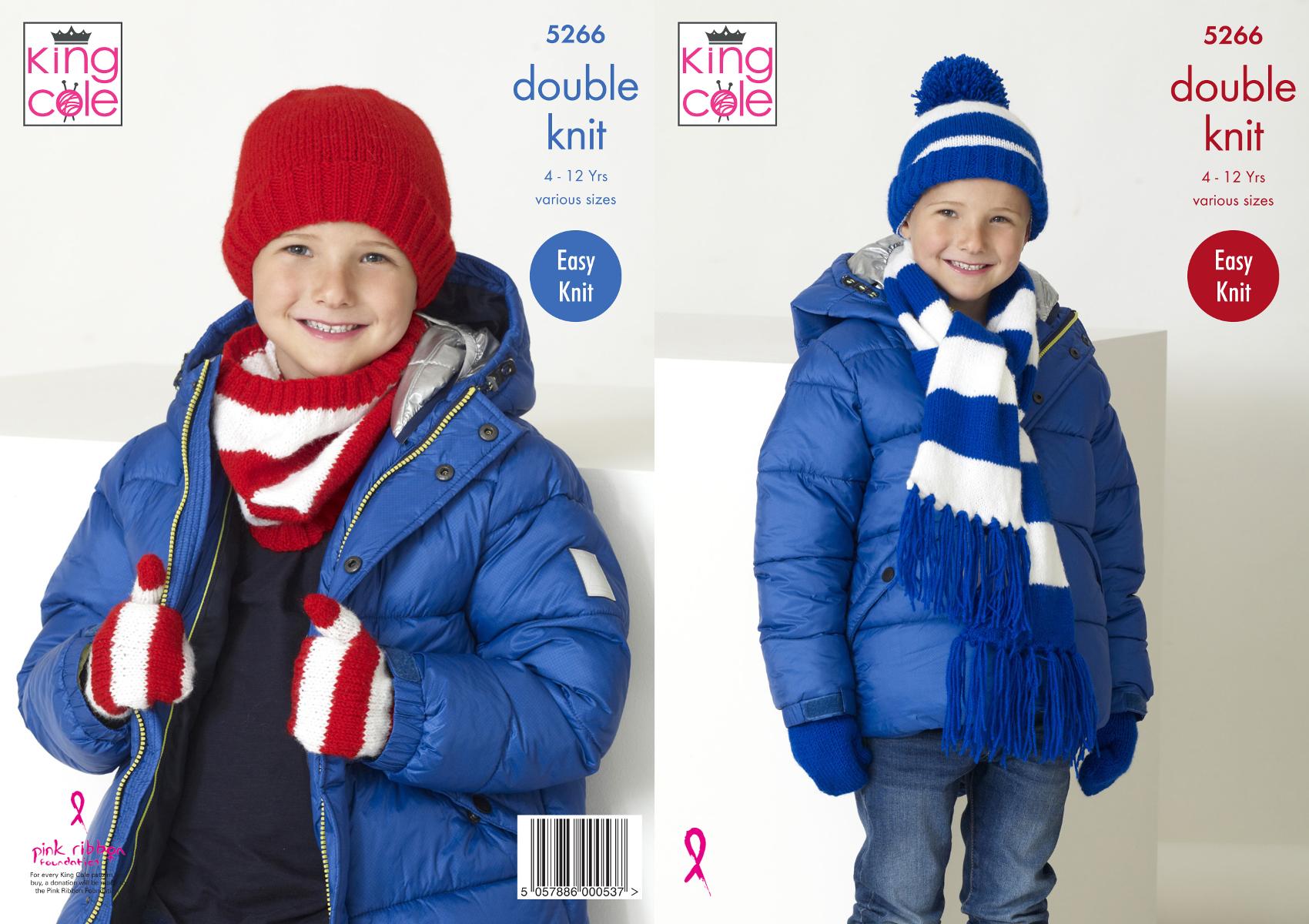 King Cole BIG VALUE DK Double Knitting Wool 4020 WHITE Yarn 50g