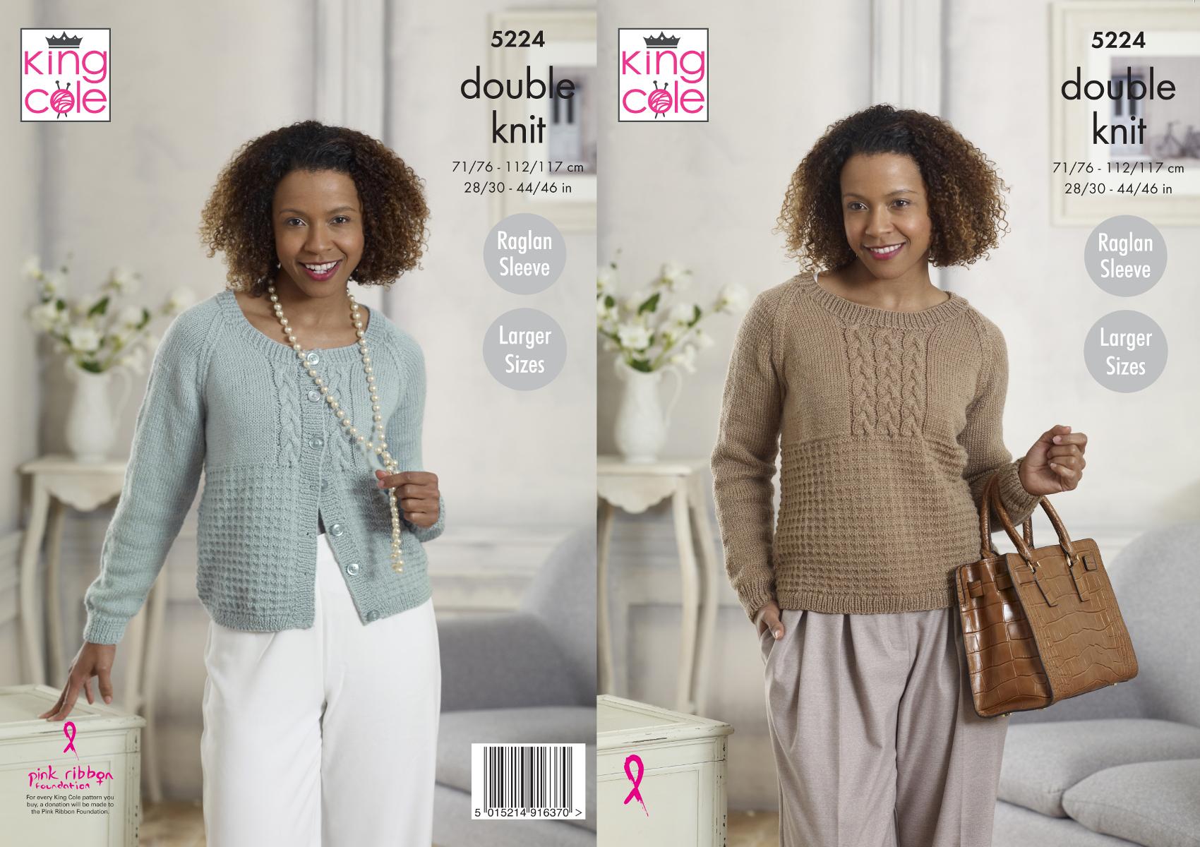 King Cole Ladies Cardigan /& Sweater Country Tweed Knitt... Free UK P/&P