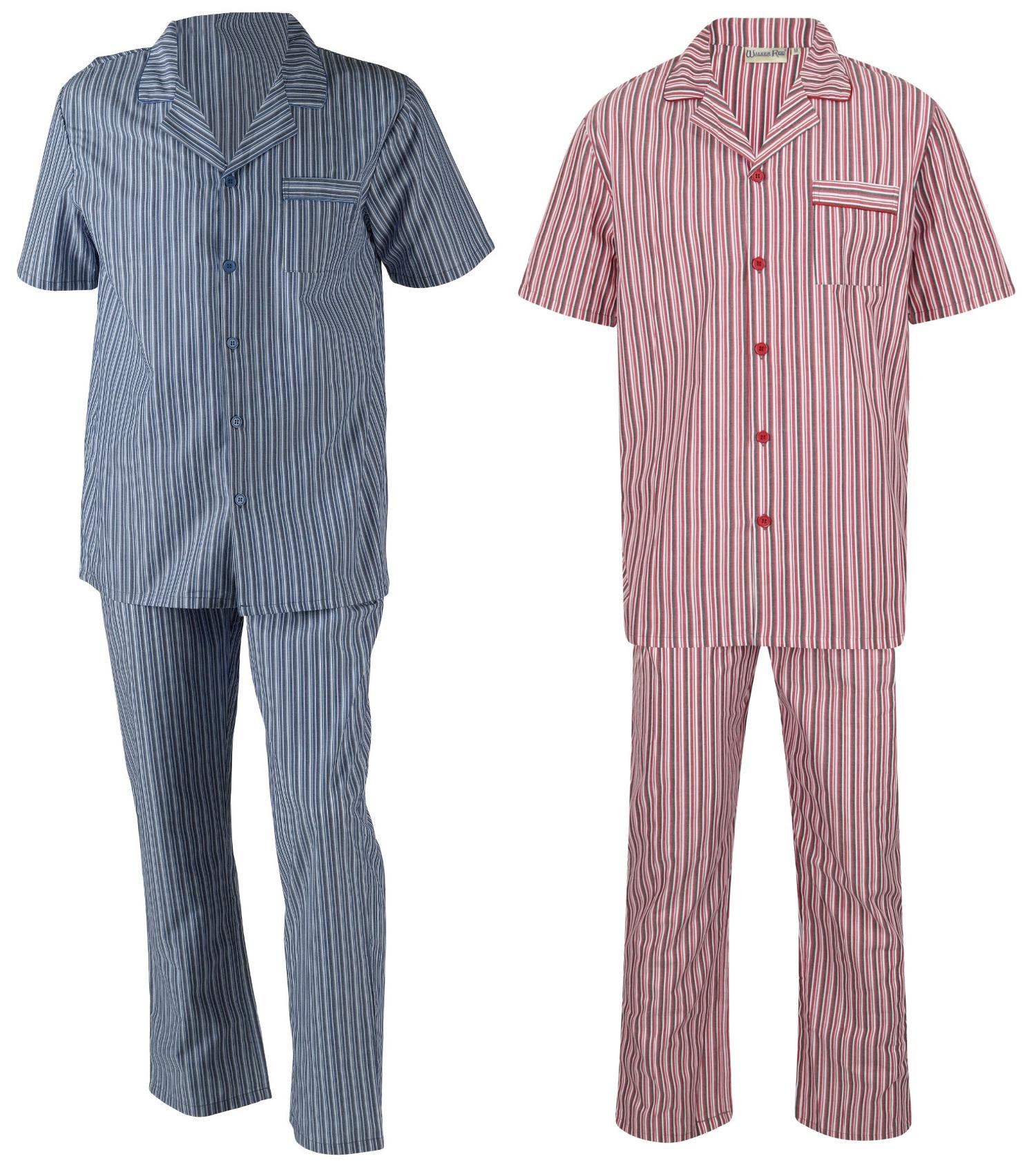 Walker Reid Haut de Pyjama Homme Rouge Red