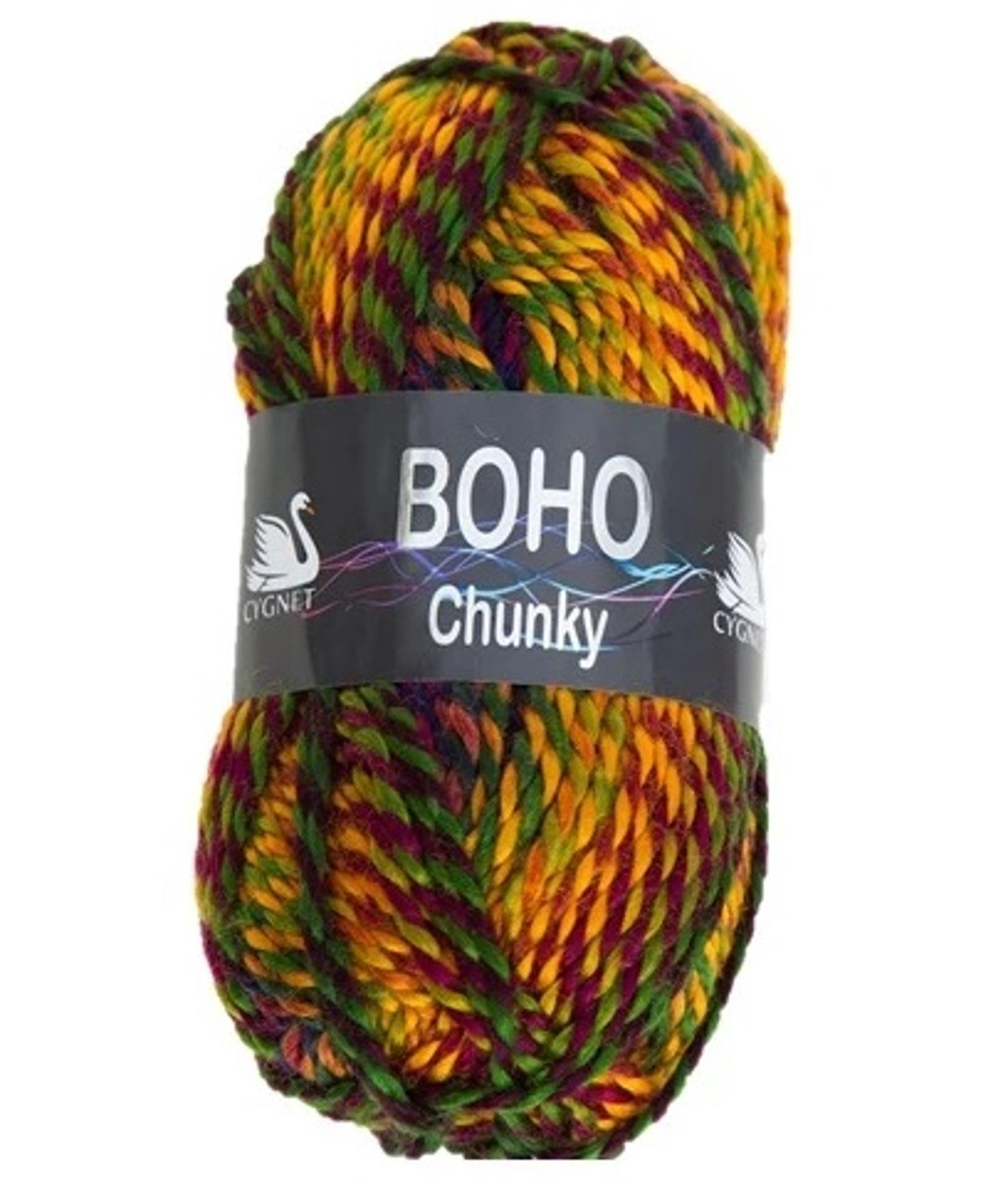 Nouveau Cygnet Boho Chunky Premium Acrylique Laine à Tricoter Crochet Yarn 100 G boule