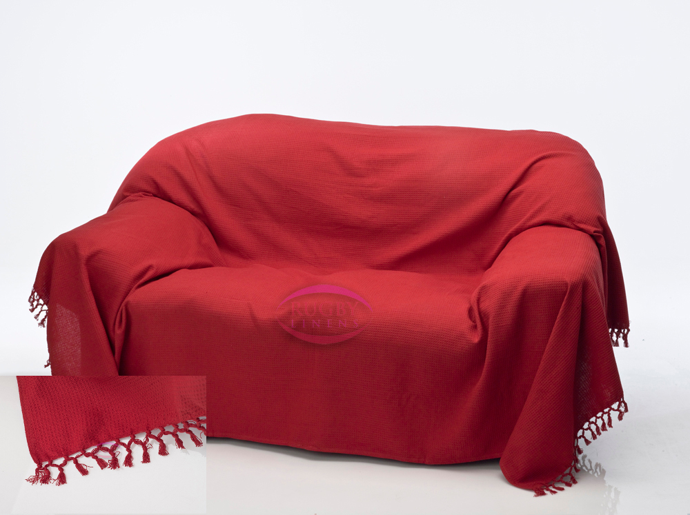 Red Sofa Throws Home And Textiles