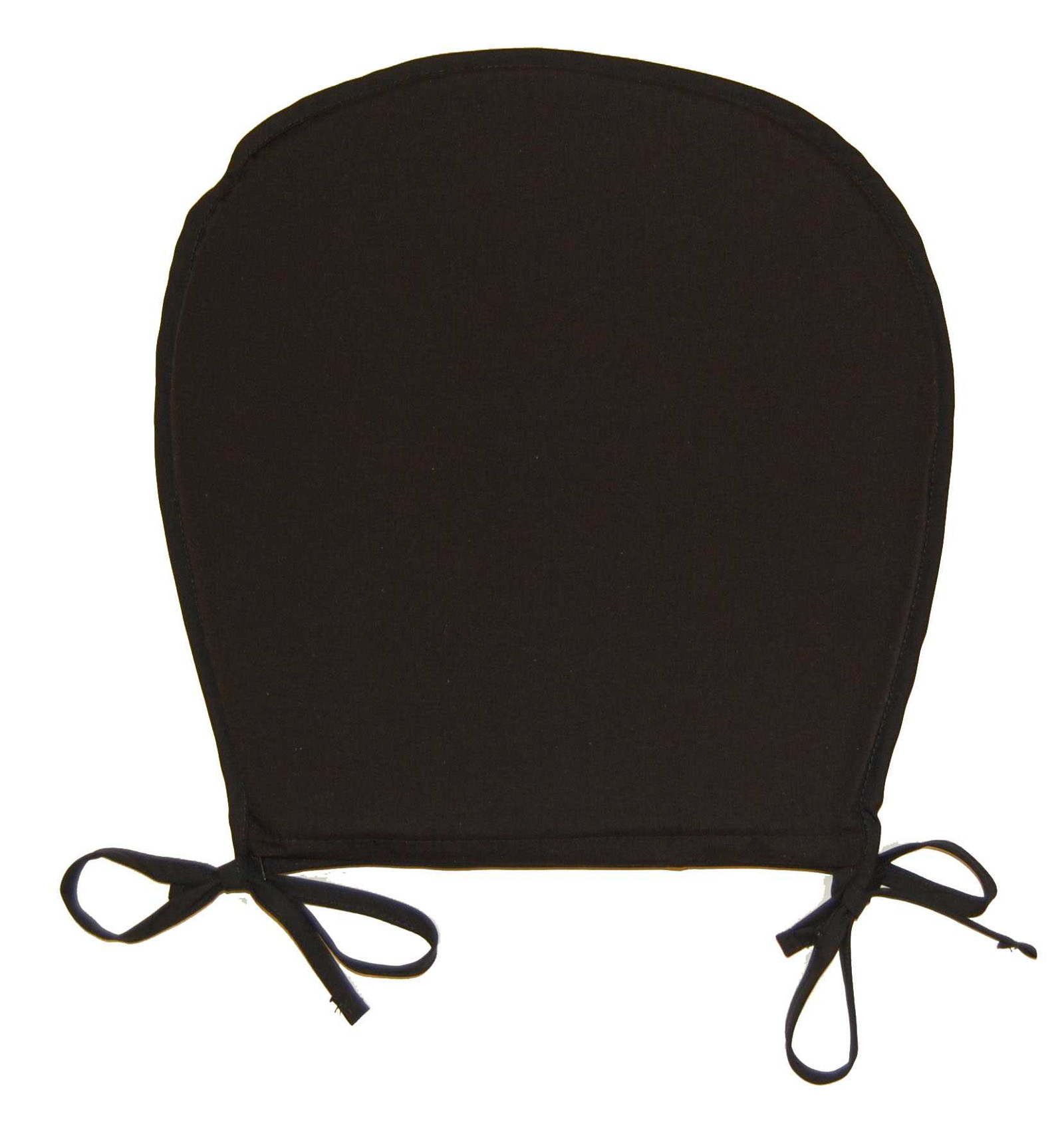 Black And Beige Kitchen Chair Pads