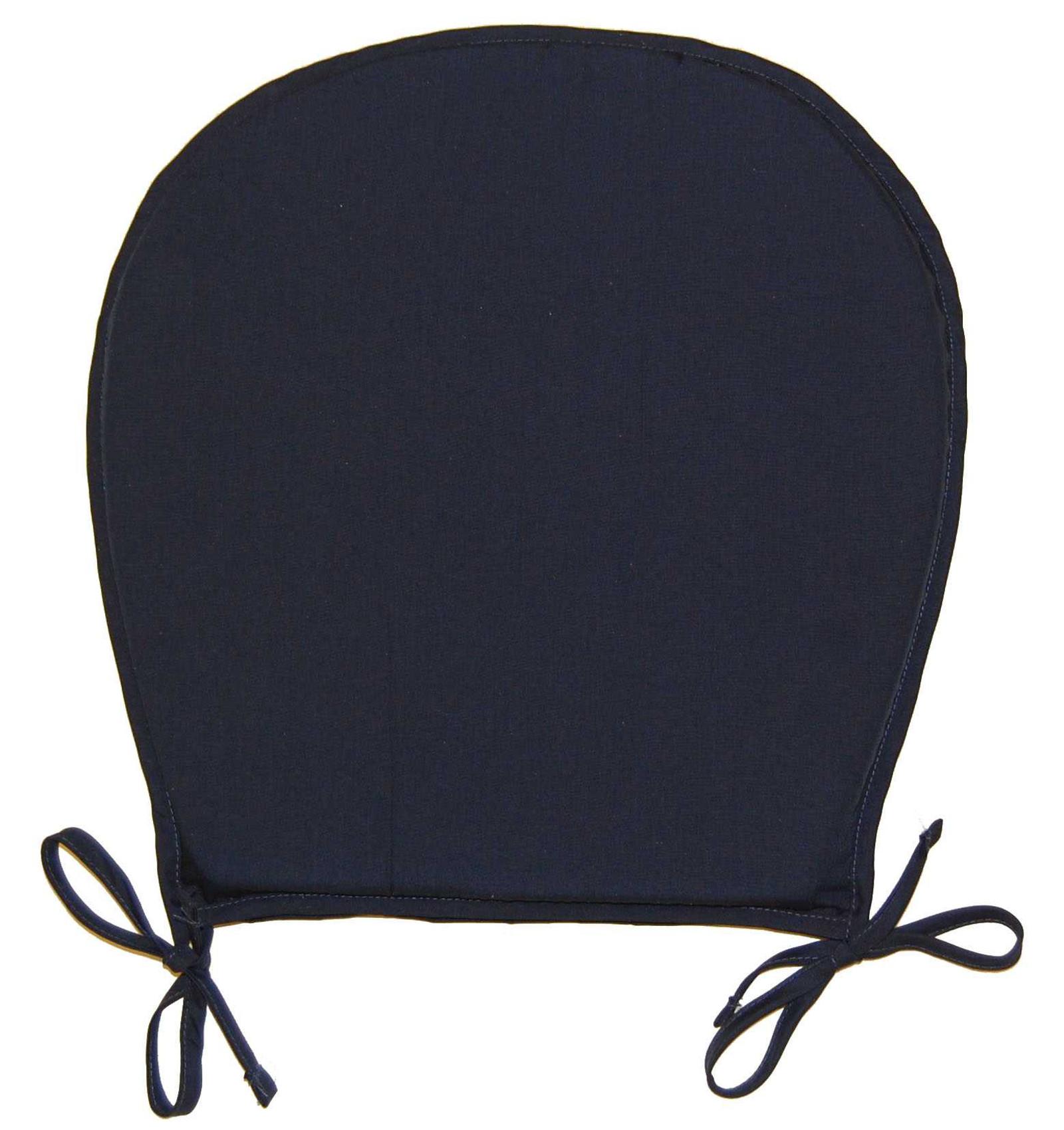 plain round seat pad outdoor garden dining kitchen chair